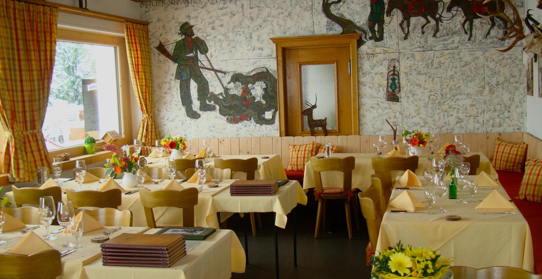 Restaurant Hotel Roseg Gletscher Slide 3