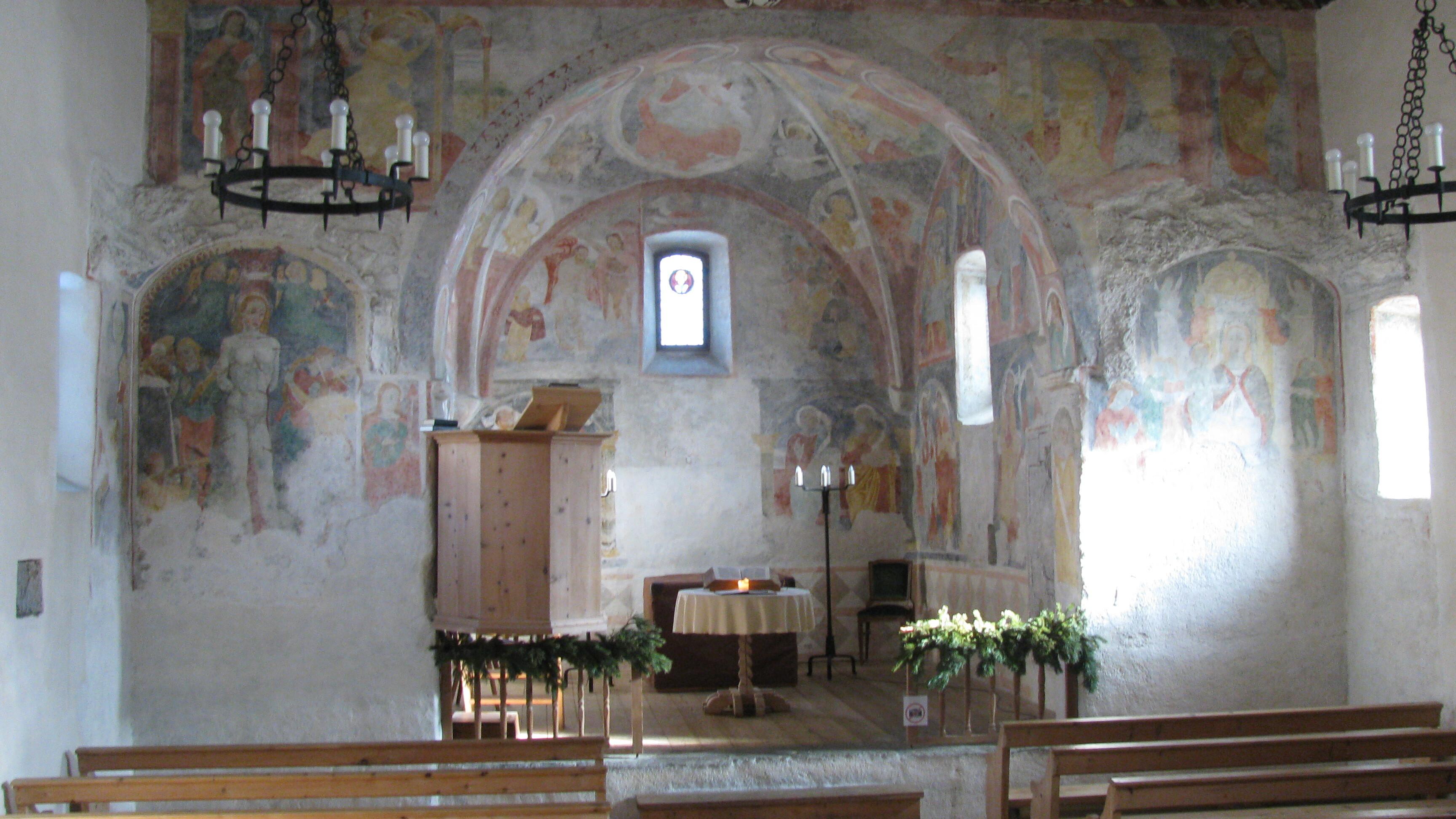 Reformierte Kirche San Gian Slide 1