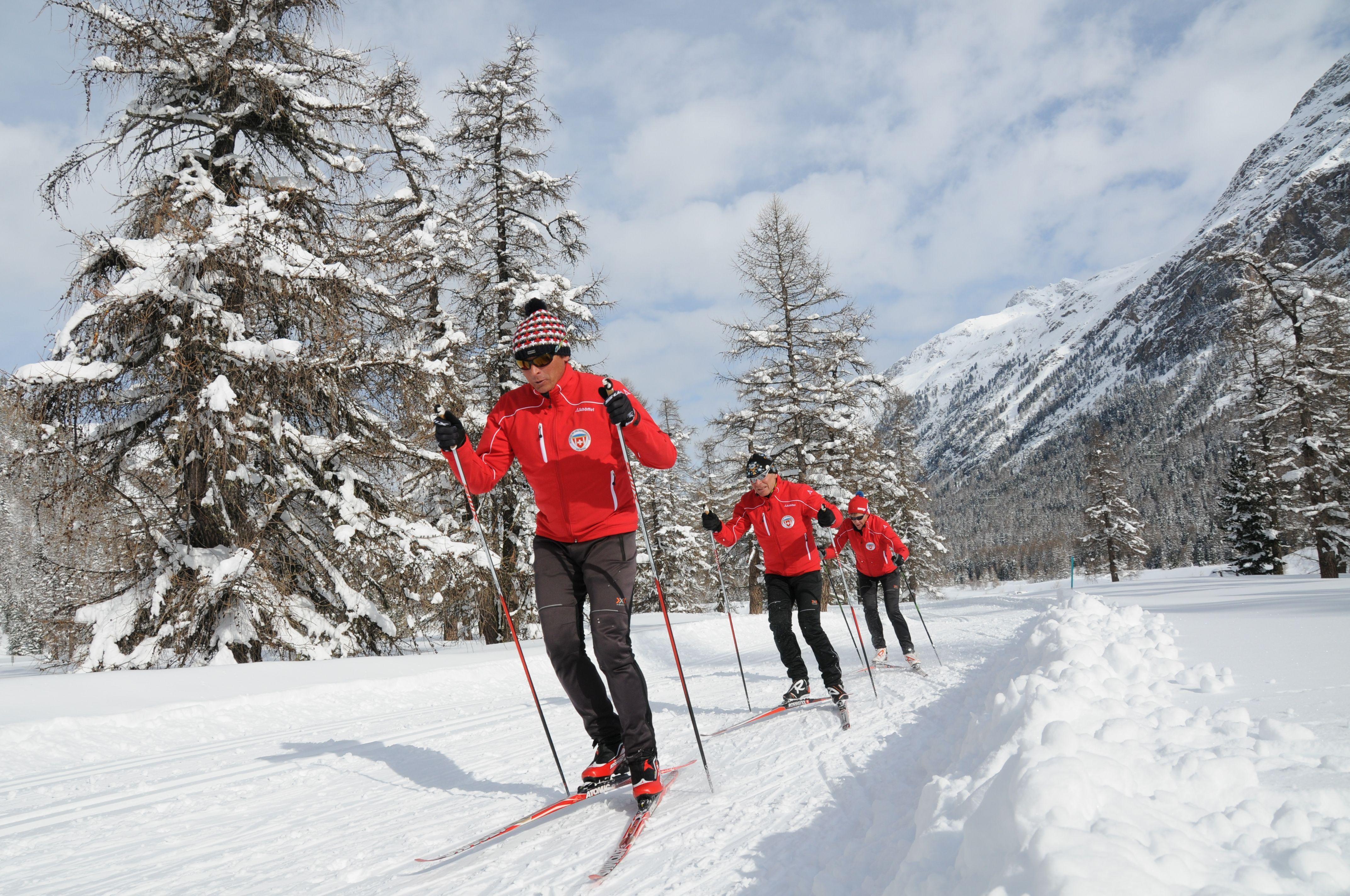 Schweizer Langlauf- und Bikezentrum Pontresina Slide 1