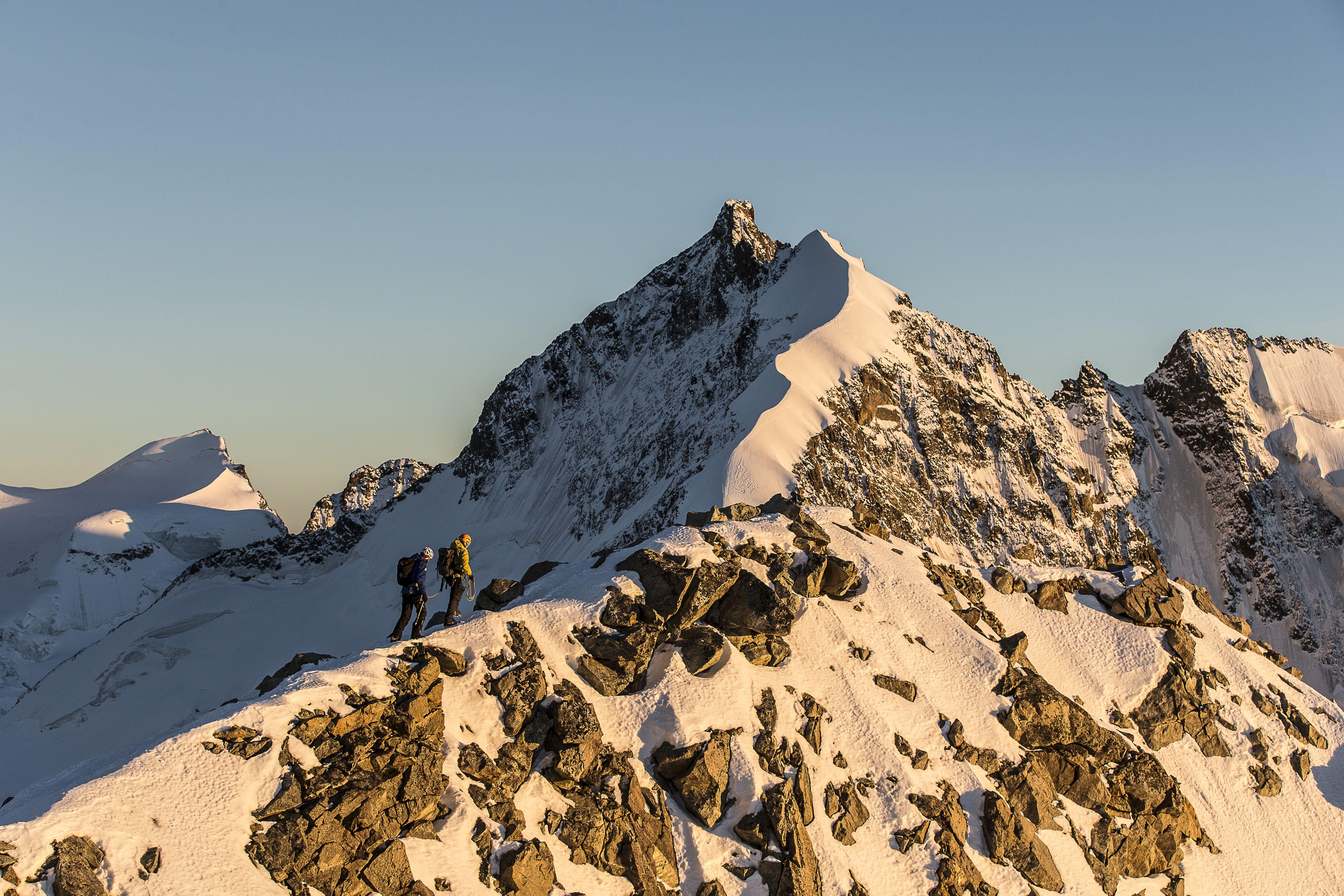 Bergsteigerschule Pontresina (Mountaineering school) Slide 1