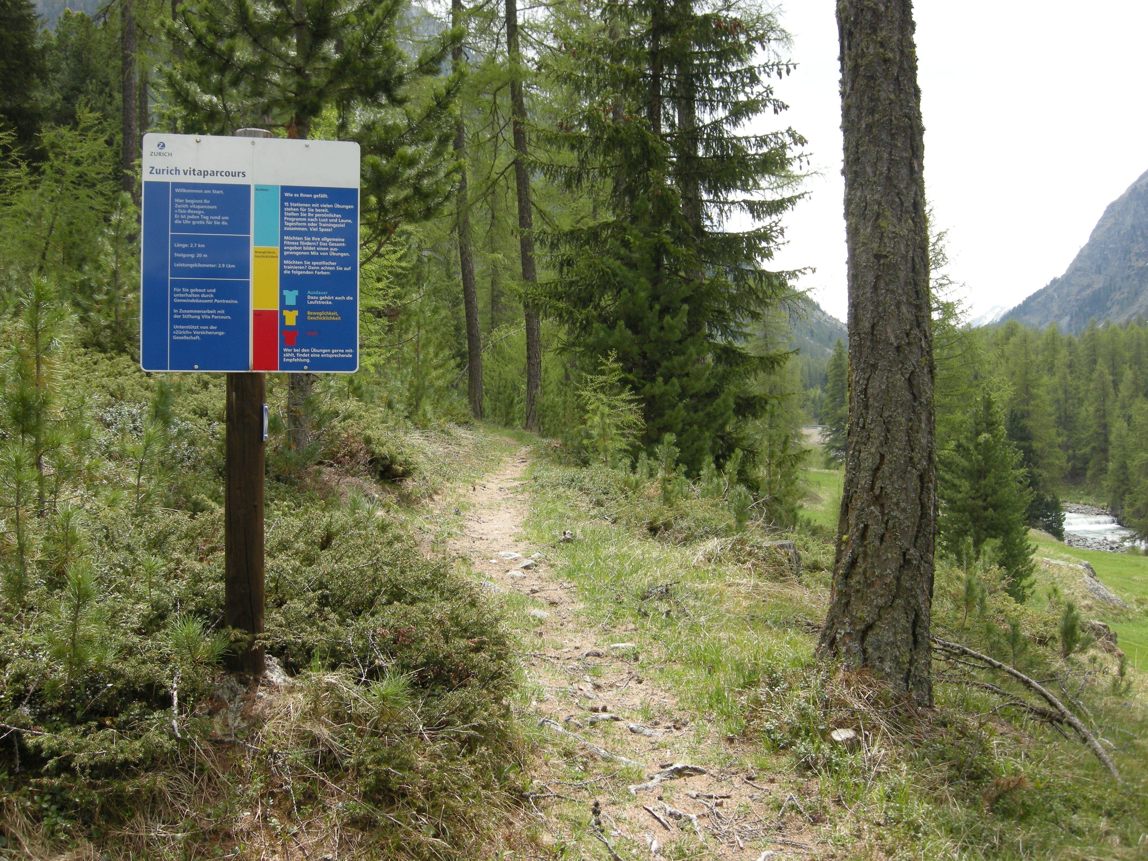 Vita Parcours Pontresina Slide 2