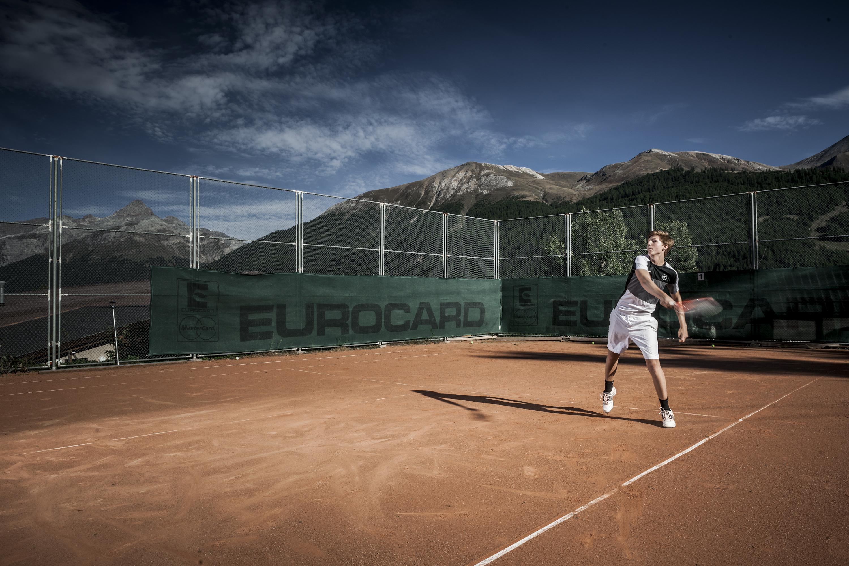Tennisplatz Lyceum Alpinum Slide 1