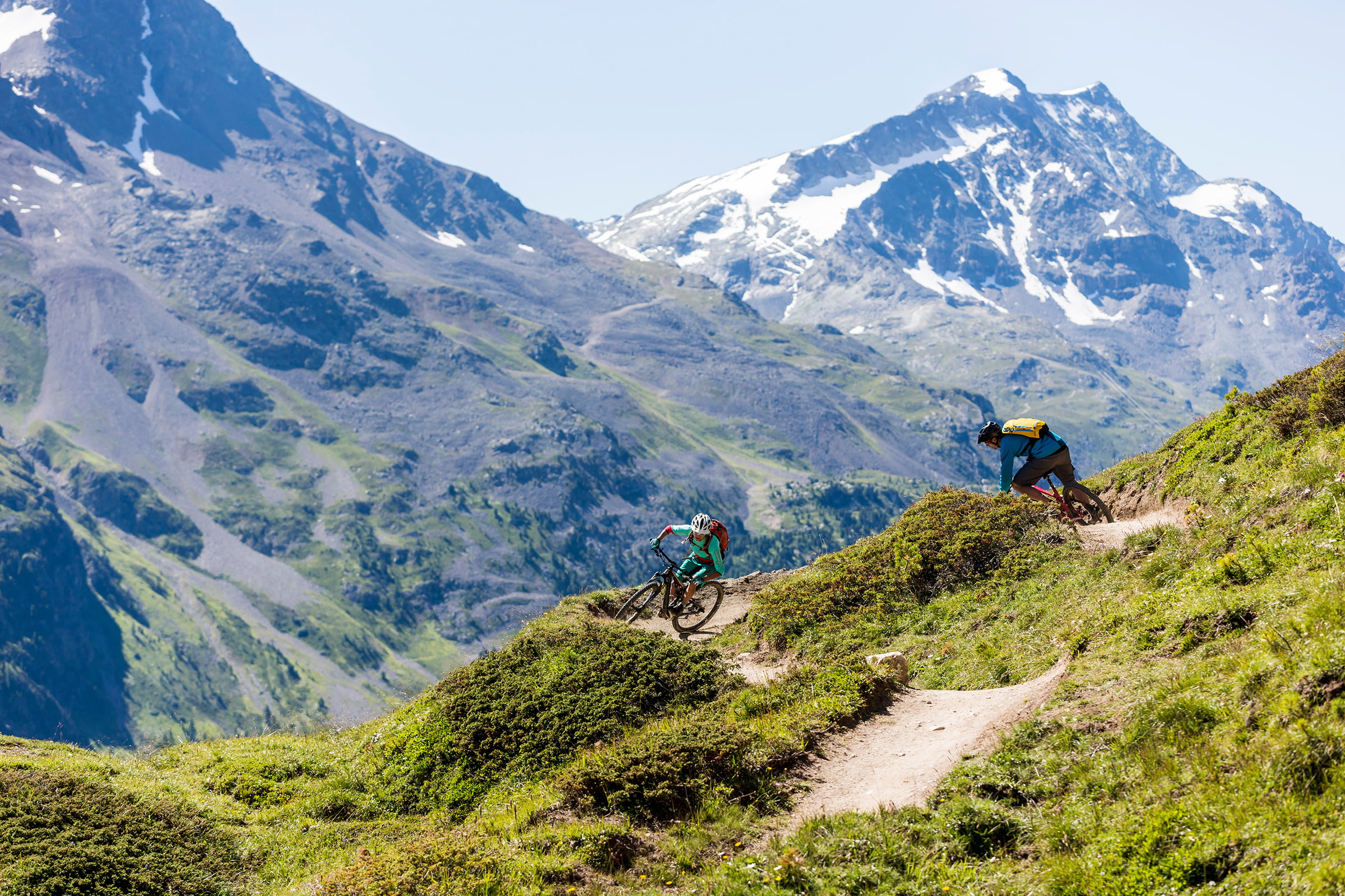 Mountain-biker's code of conduct