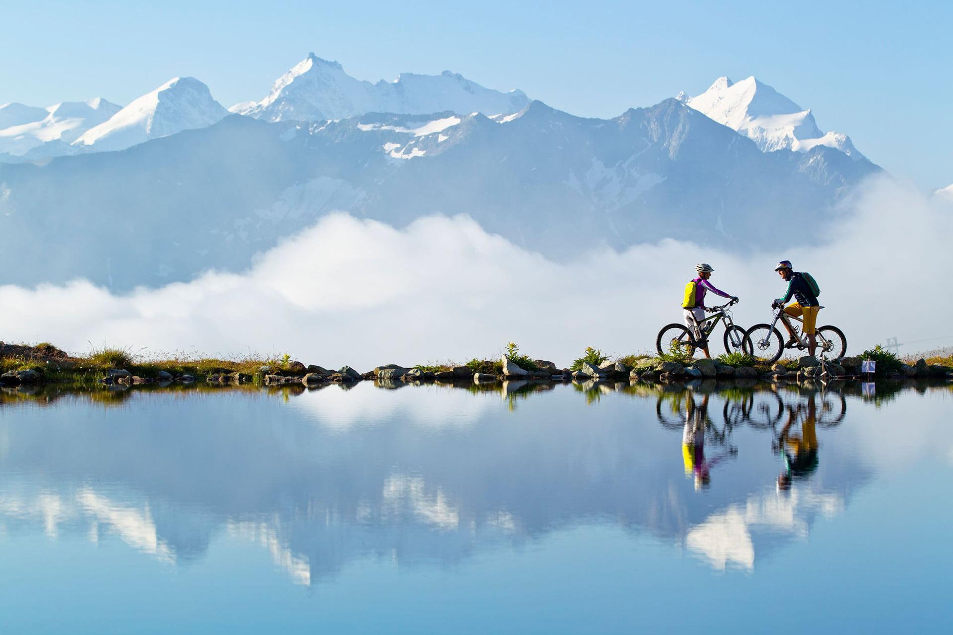 mountainbike in engadin st moritz summer in engadin st moritz. Black Bedroom Furniture Sets. Home Design Ideas