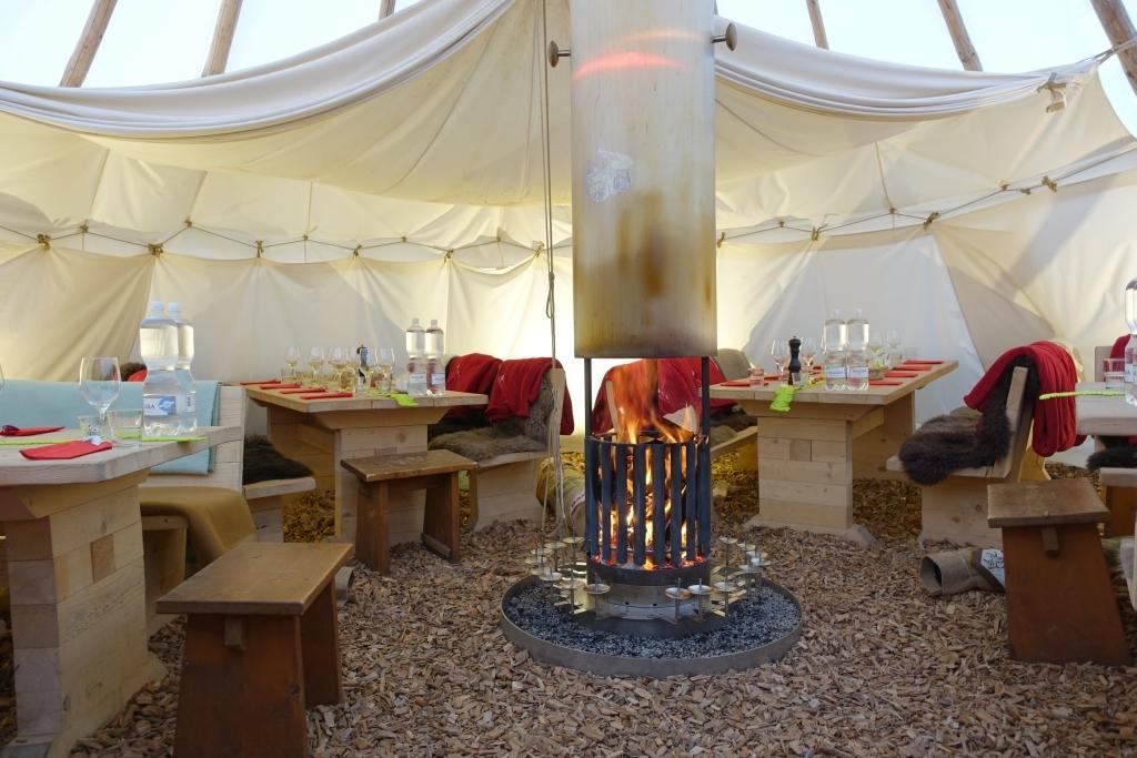 Campingrestaurant Tipi Slide 3
