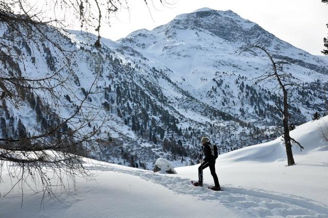 Christine Salis (Schneeschuhwanderleiterin ASAM/SWL mit eidg. Fachausweis) Slide 2