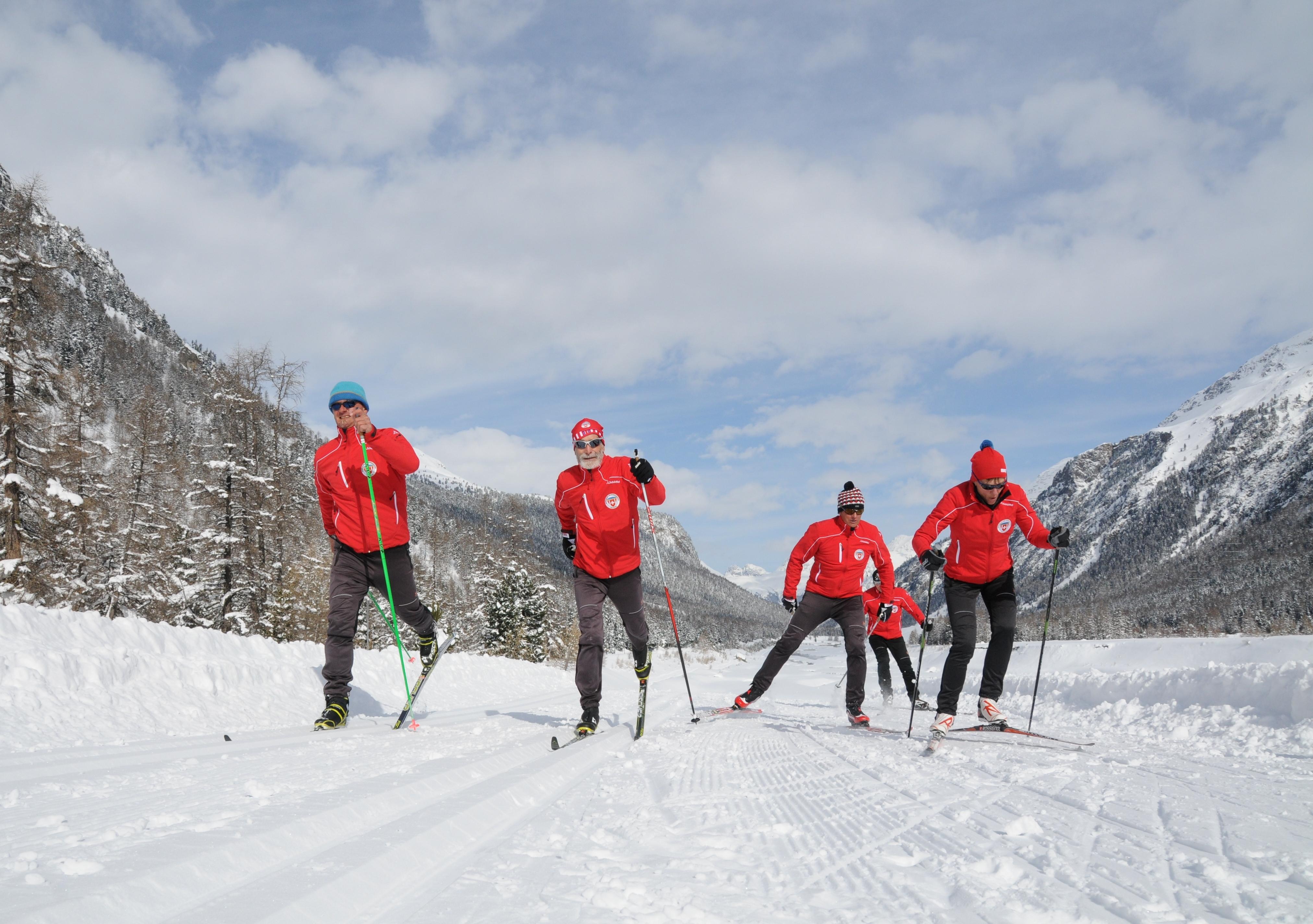 Schweizer Langlauf- und Bikezentrum Pontresina Slide 2