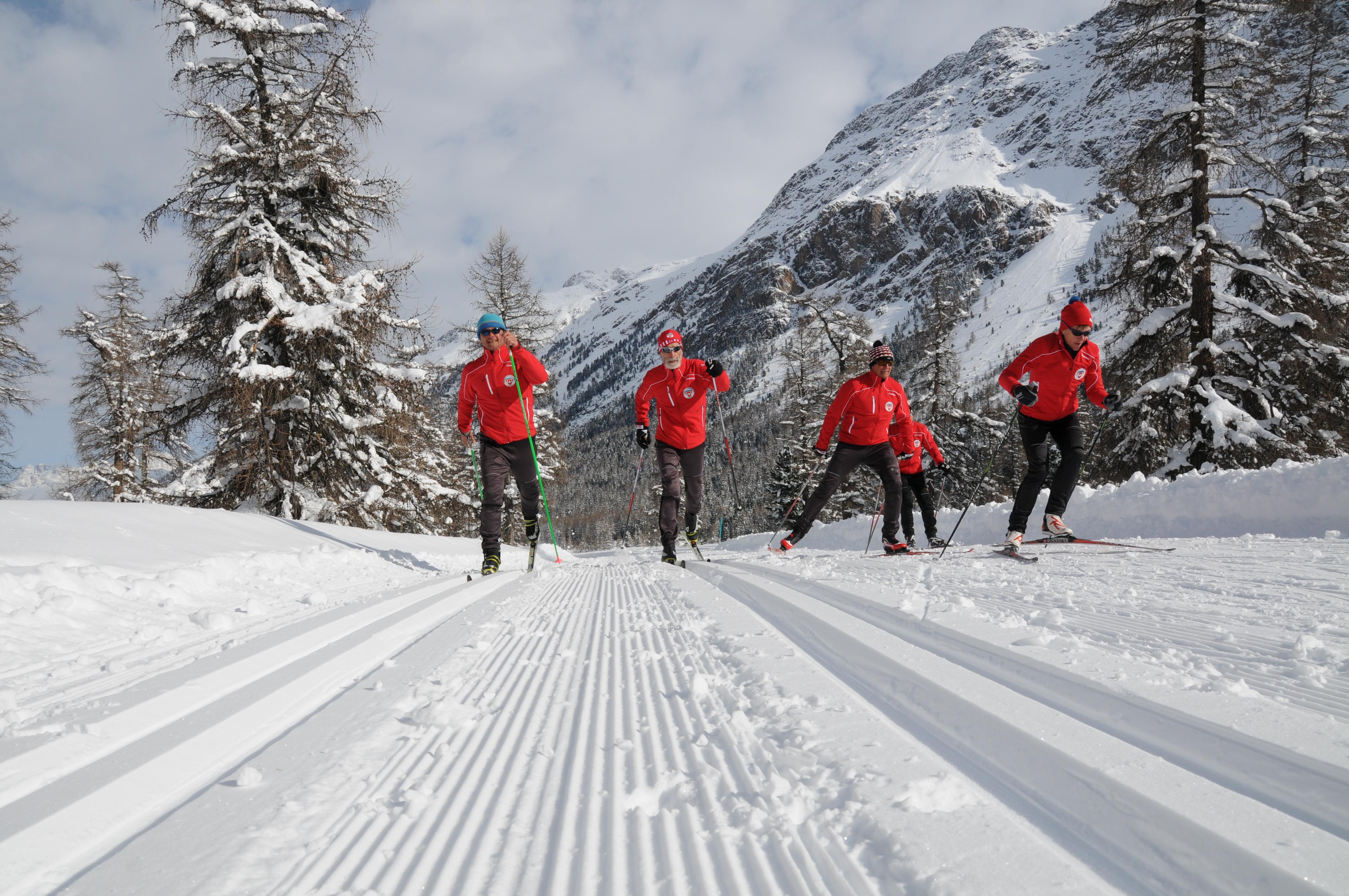 Schweizer Langlauf- und Bikezentrum Pontresina Slide 3