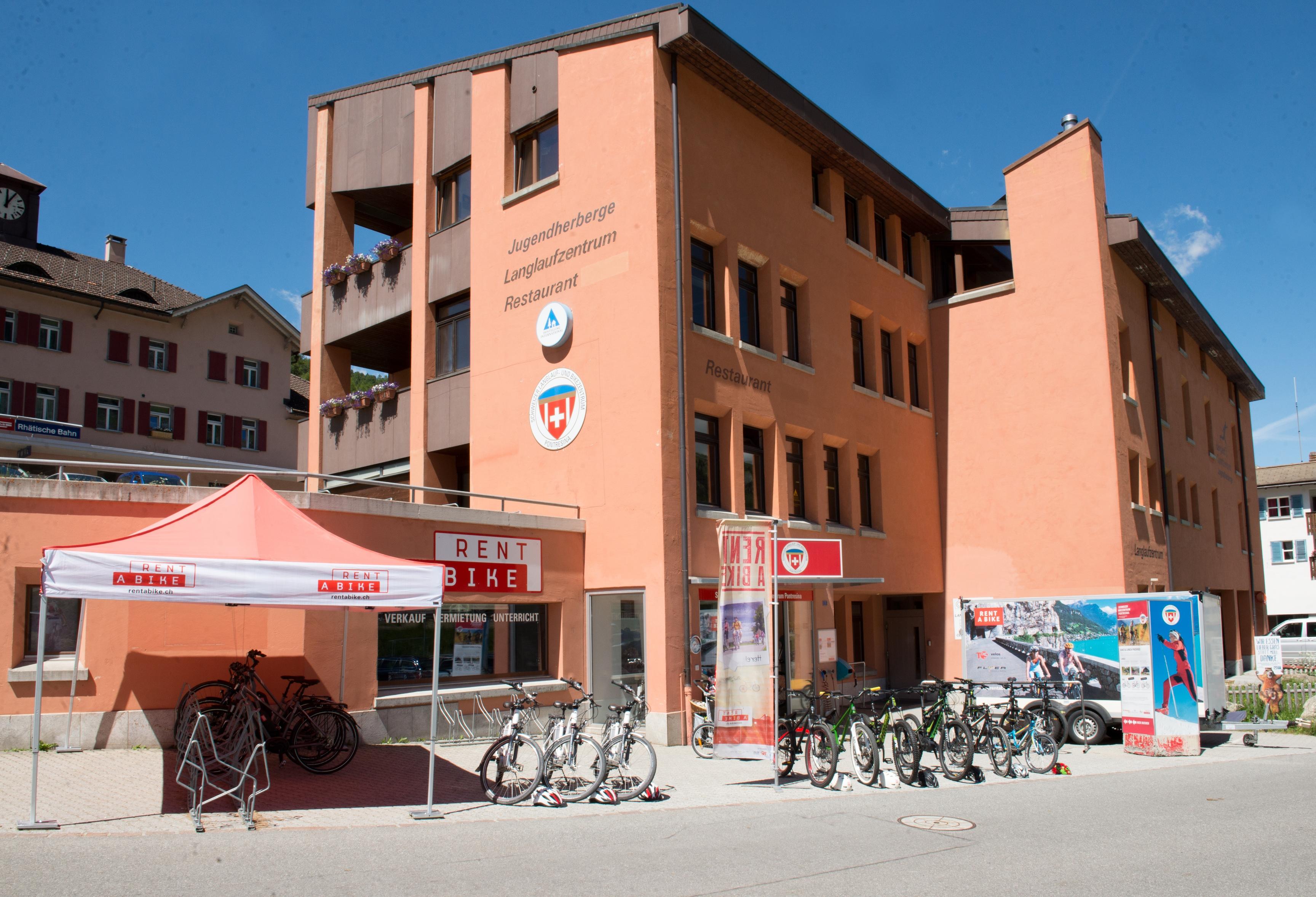 Schweizer Langlauf- und Bikezentrum Slide 3