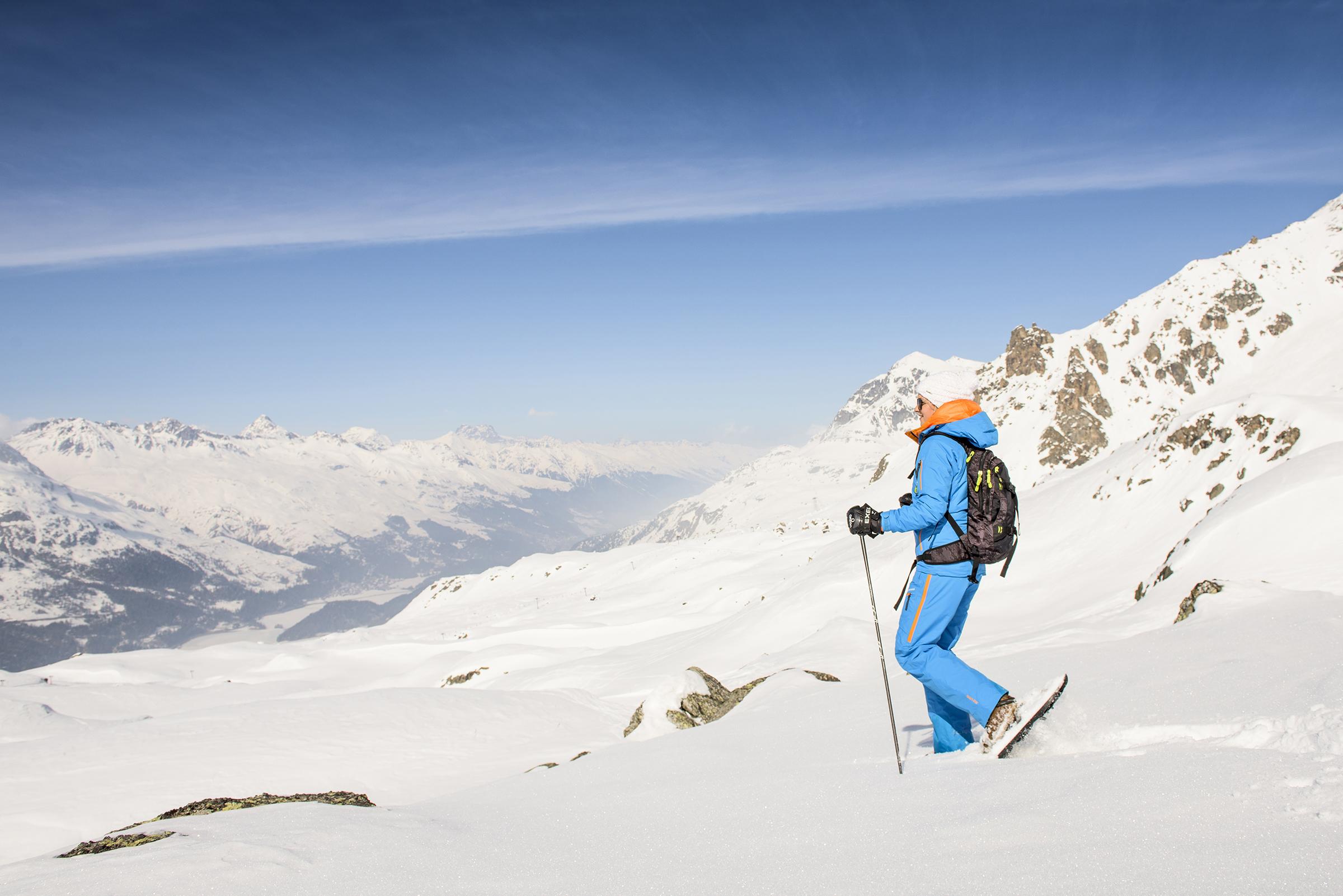 Schneeschuhwanderung Furtschellas - Lake Trail