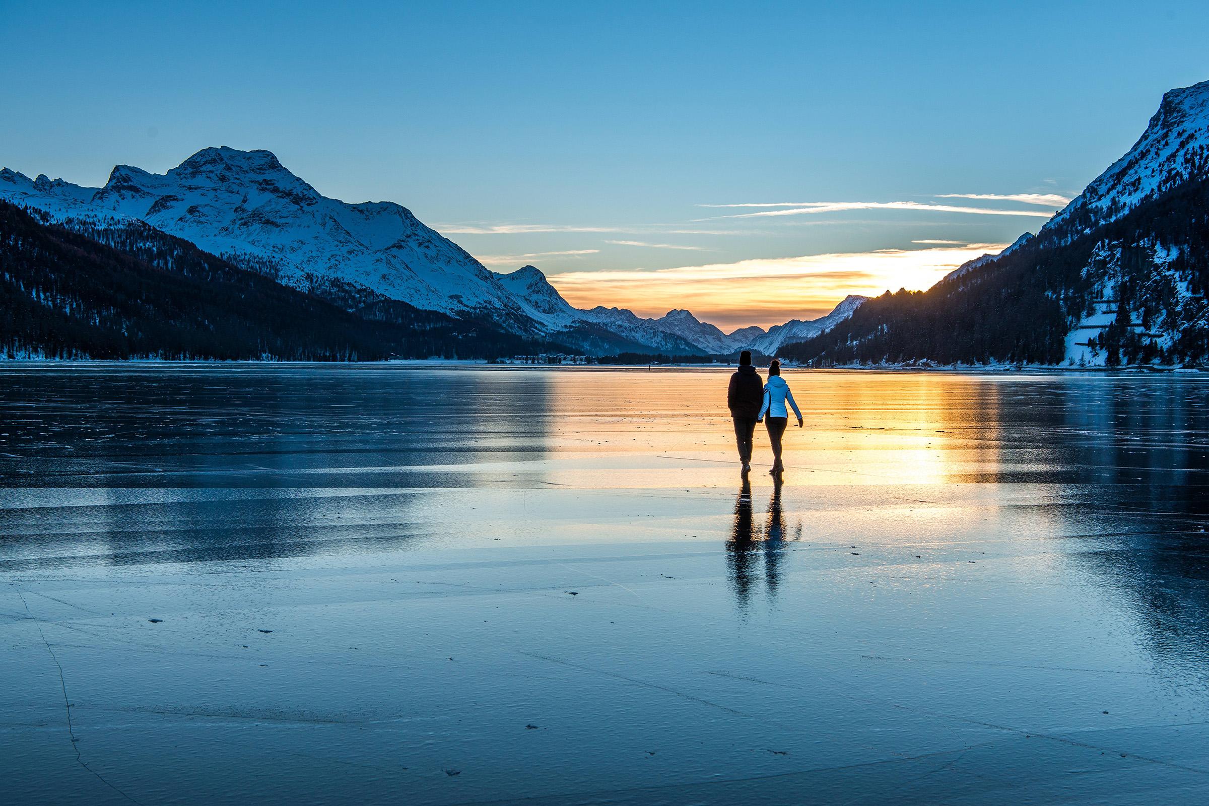 Seenweg St. Moritz – Maloja