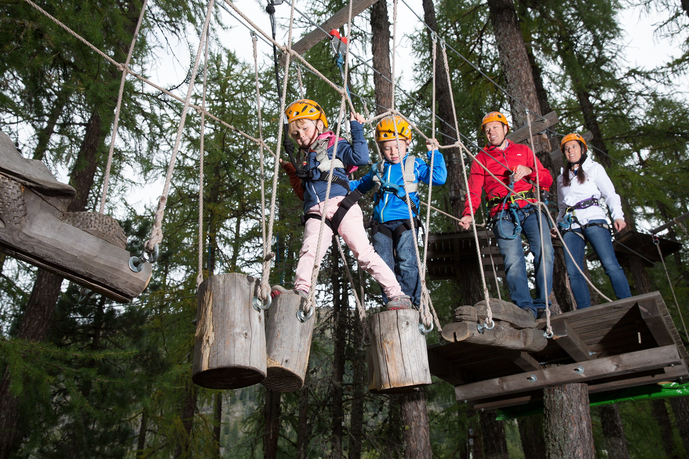 Pontresina high ropes course