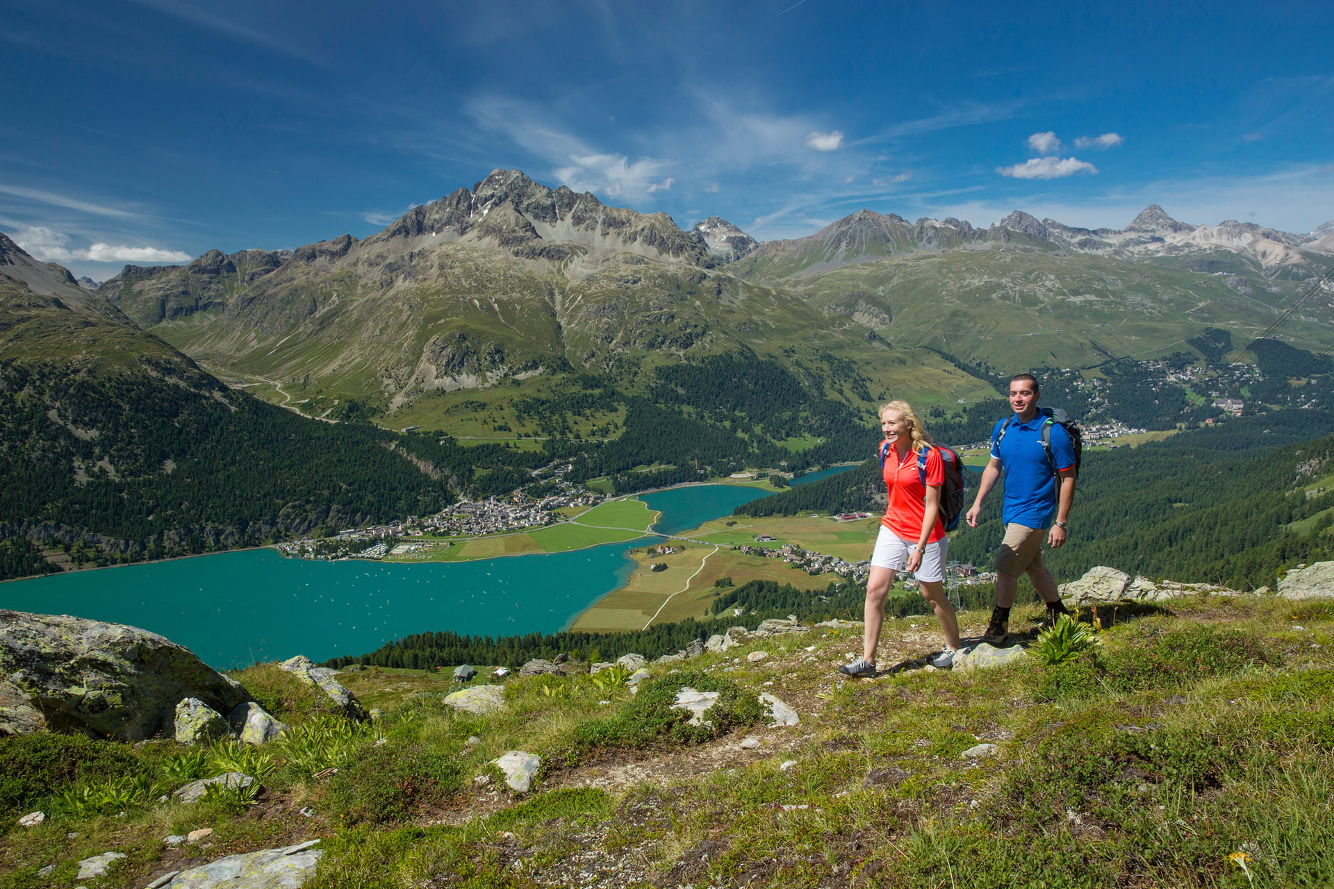 Image result for walking in upper engadin