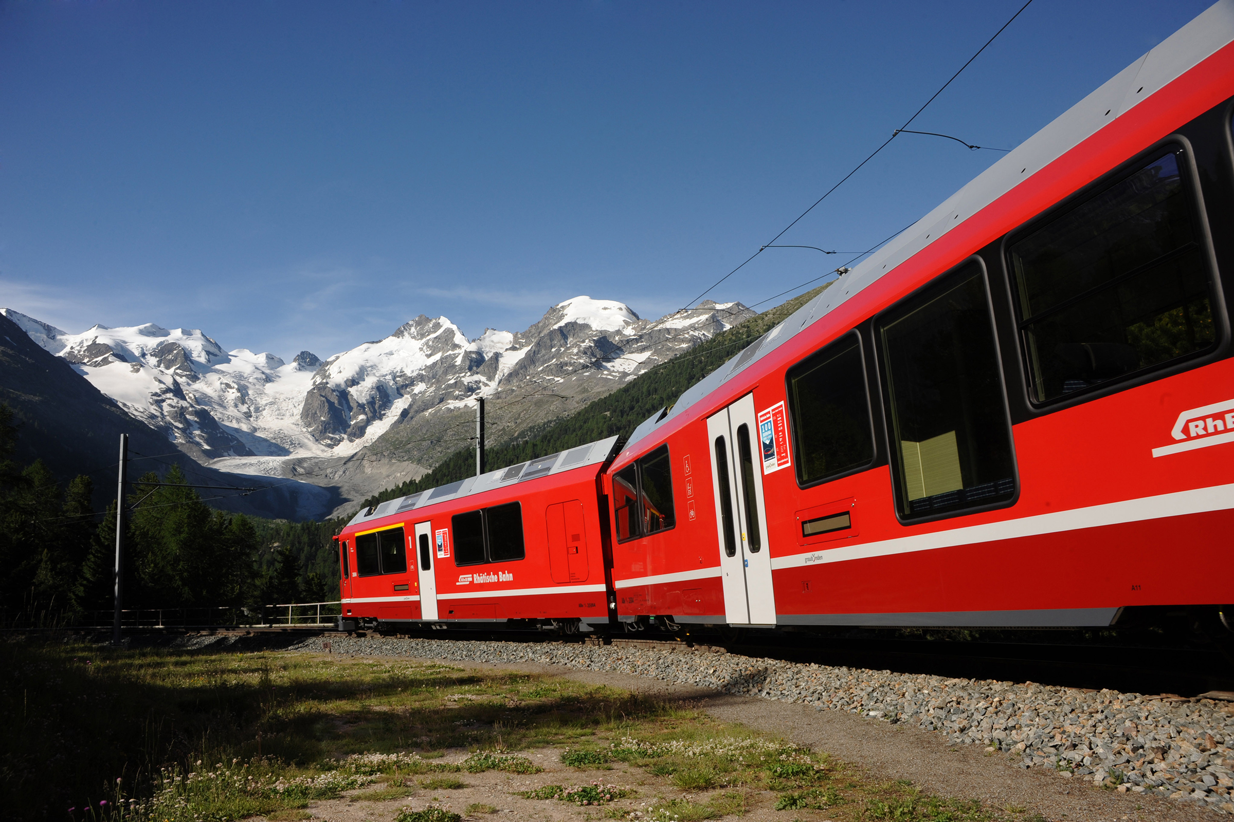 Bahnerlebnisse in Engadin St. Moritz