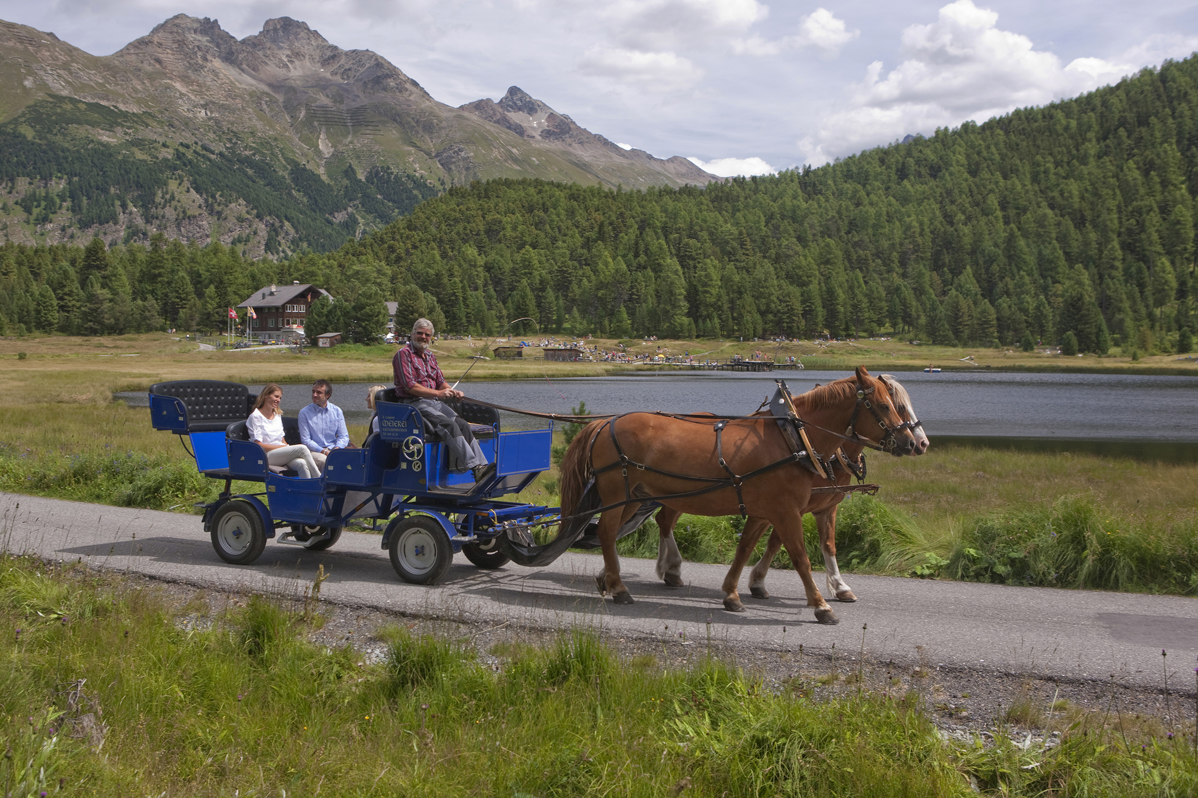 Kutschenfahrten in St. Moritz
