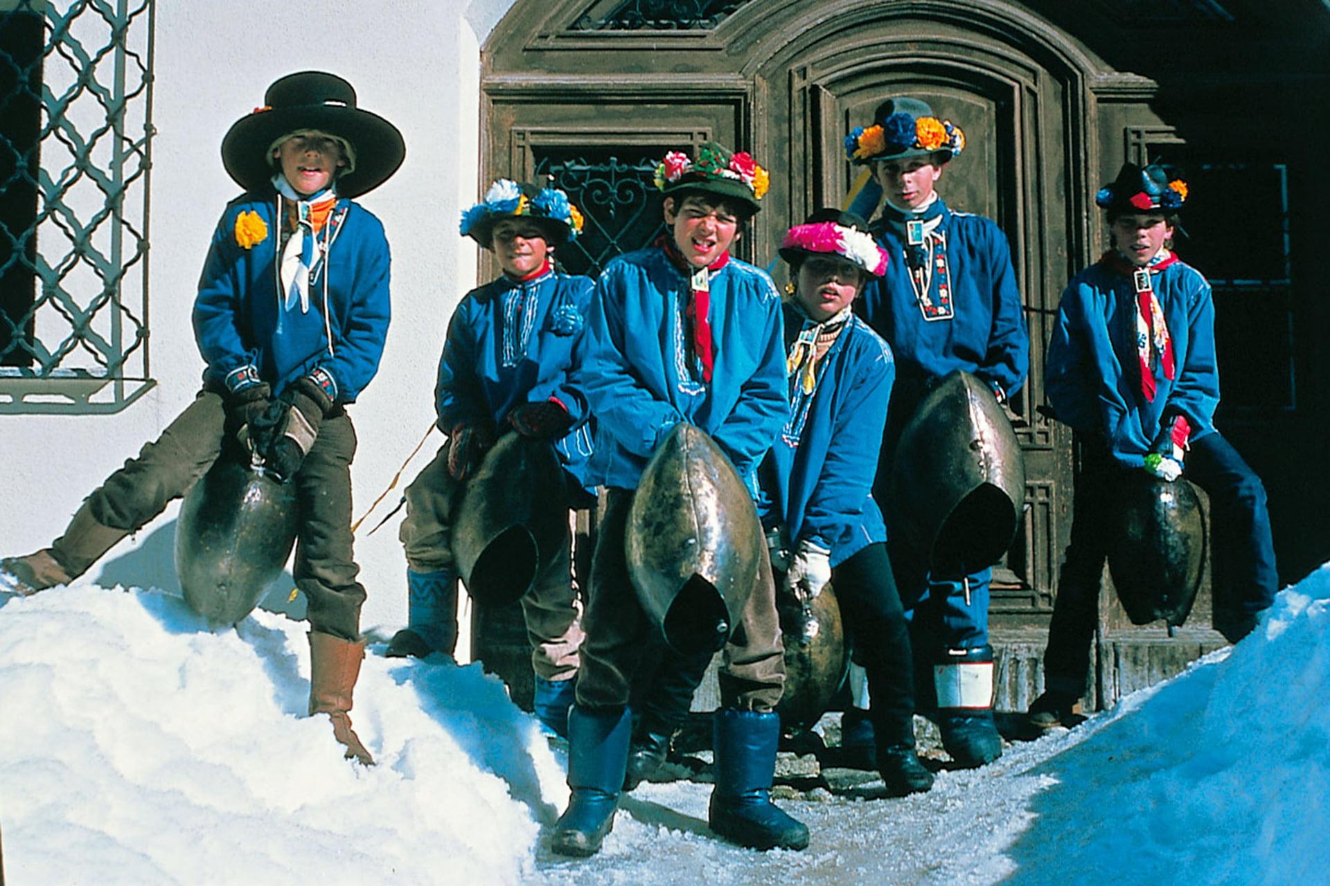 Chalandamarz Winter In Engadin St Moritz