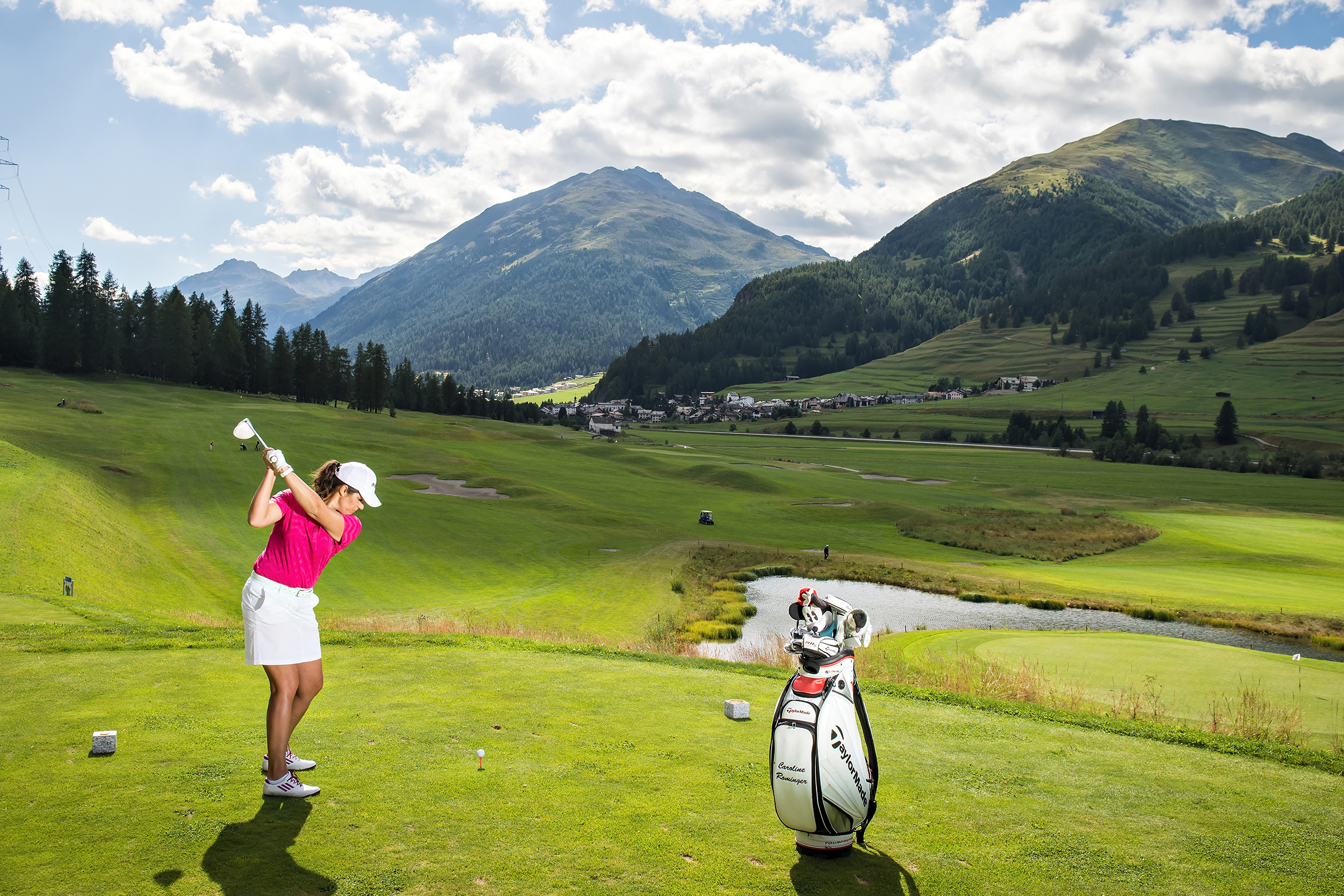 Golf in the Engadin, Zuoz