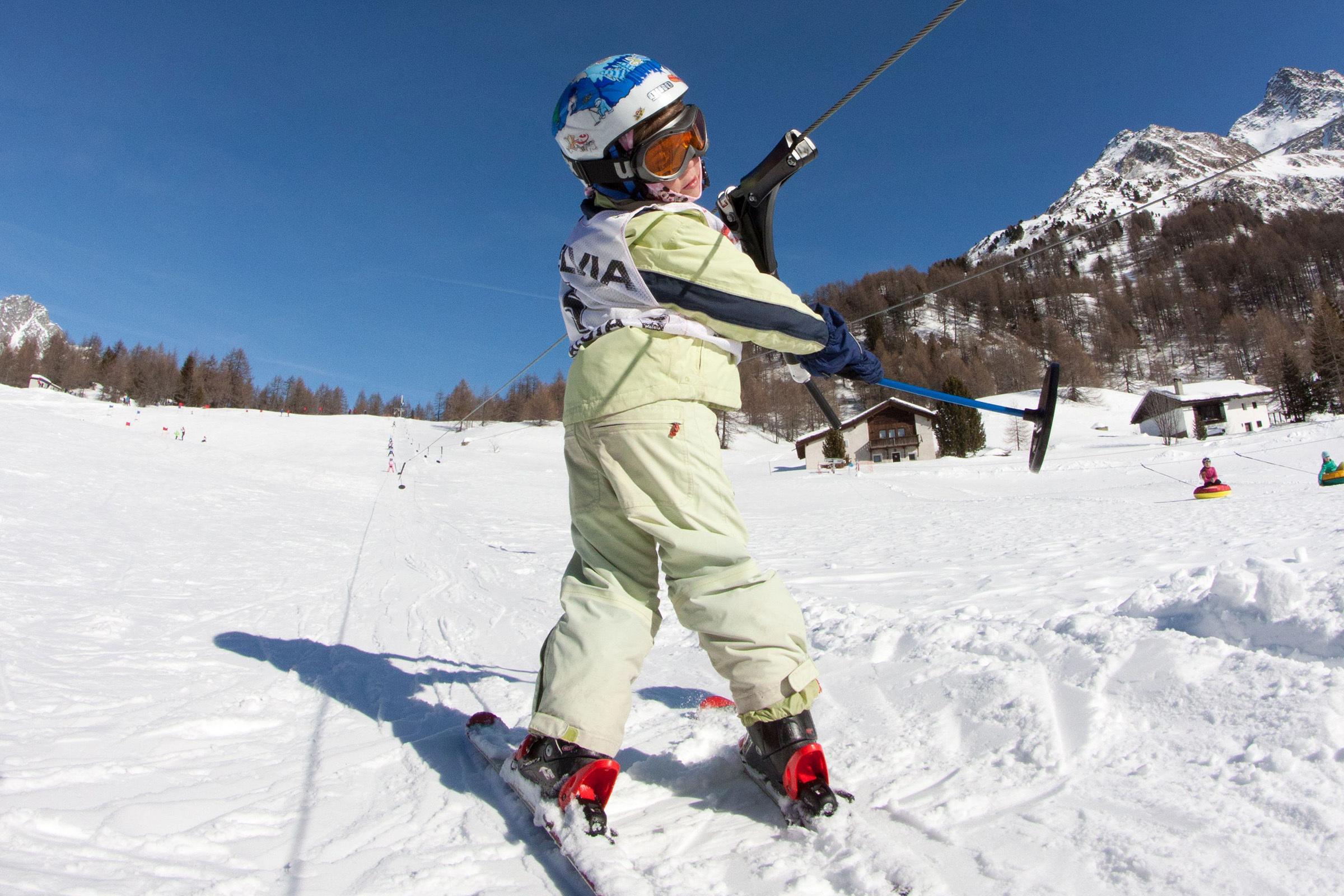 Skilift Aela, Maloja