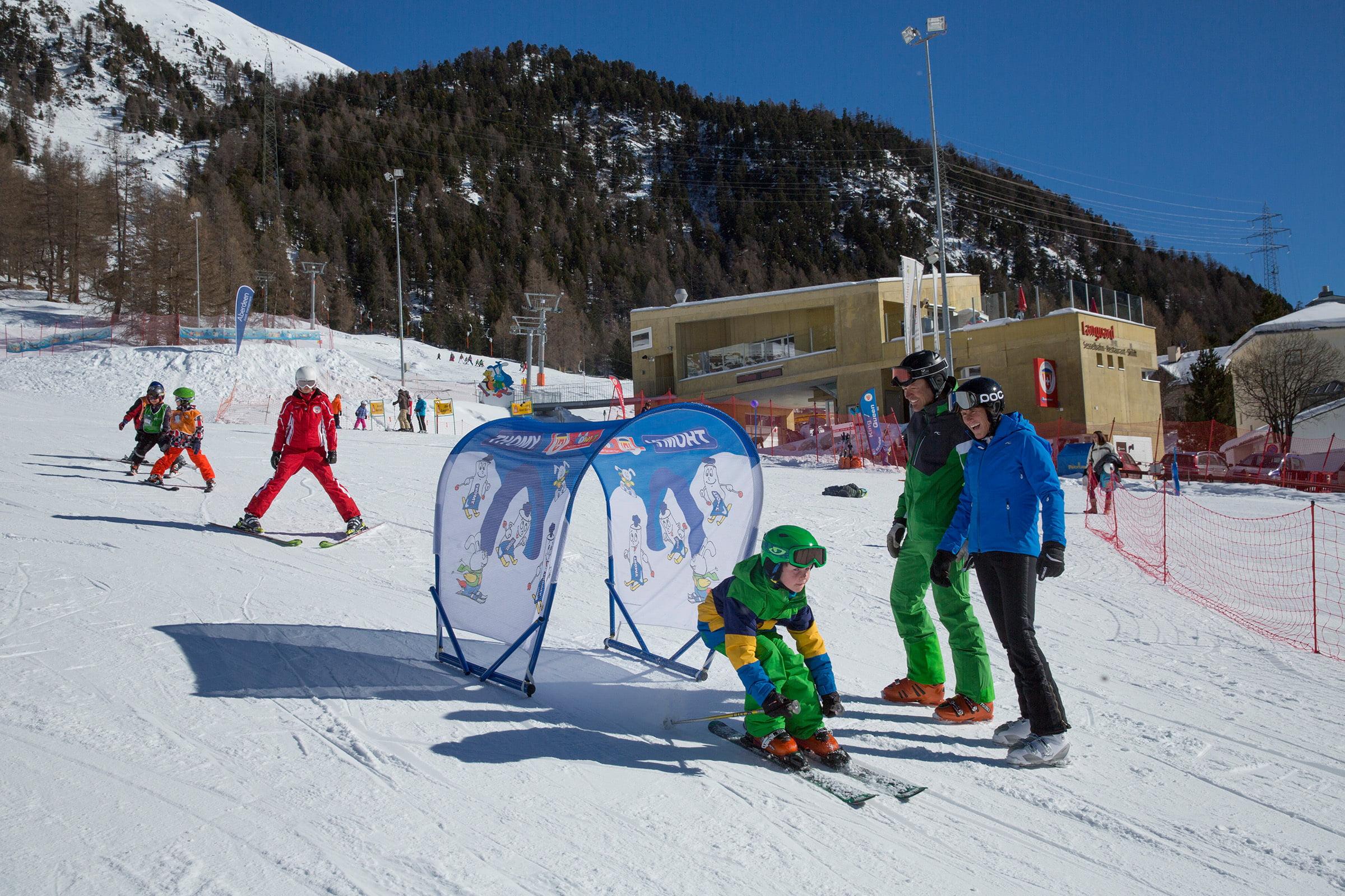 Languard family ski area