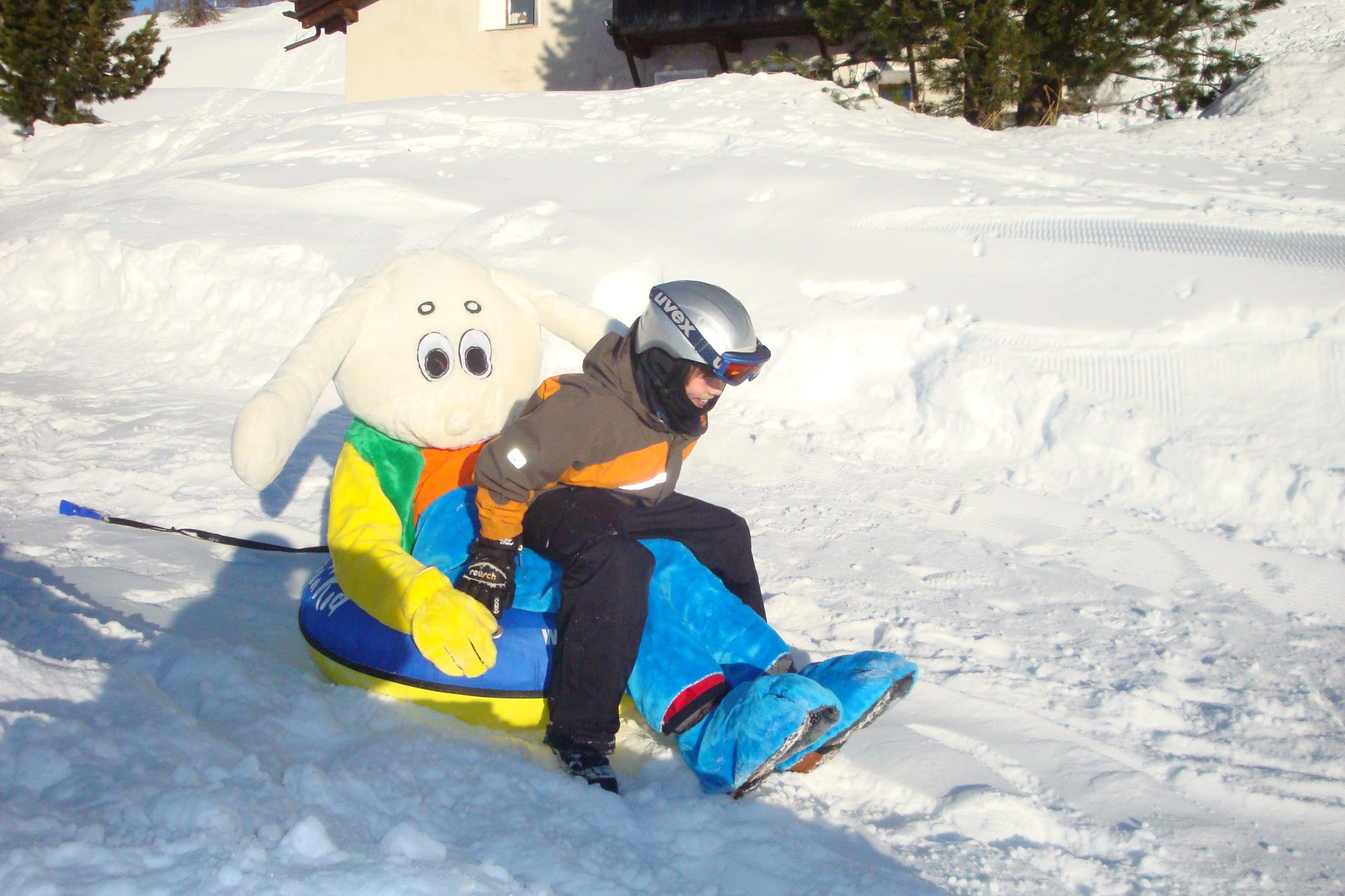 Snowtubing Maloja