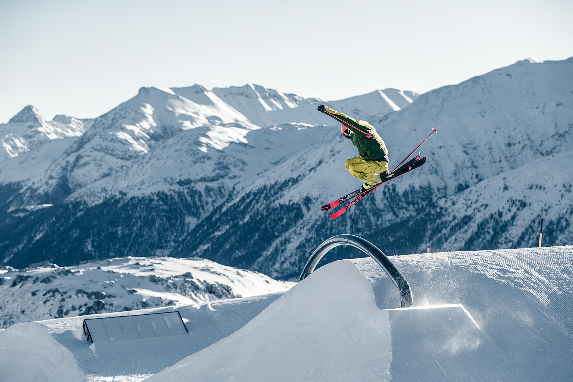 Corviglia Snowpark «Crowland»
