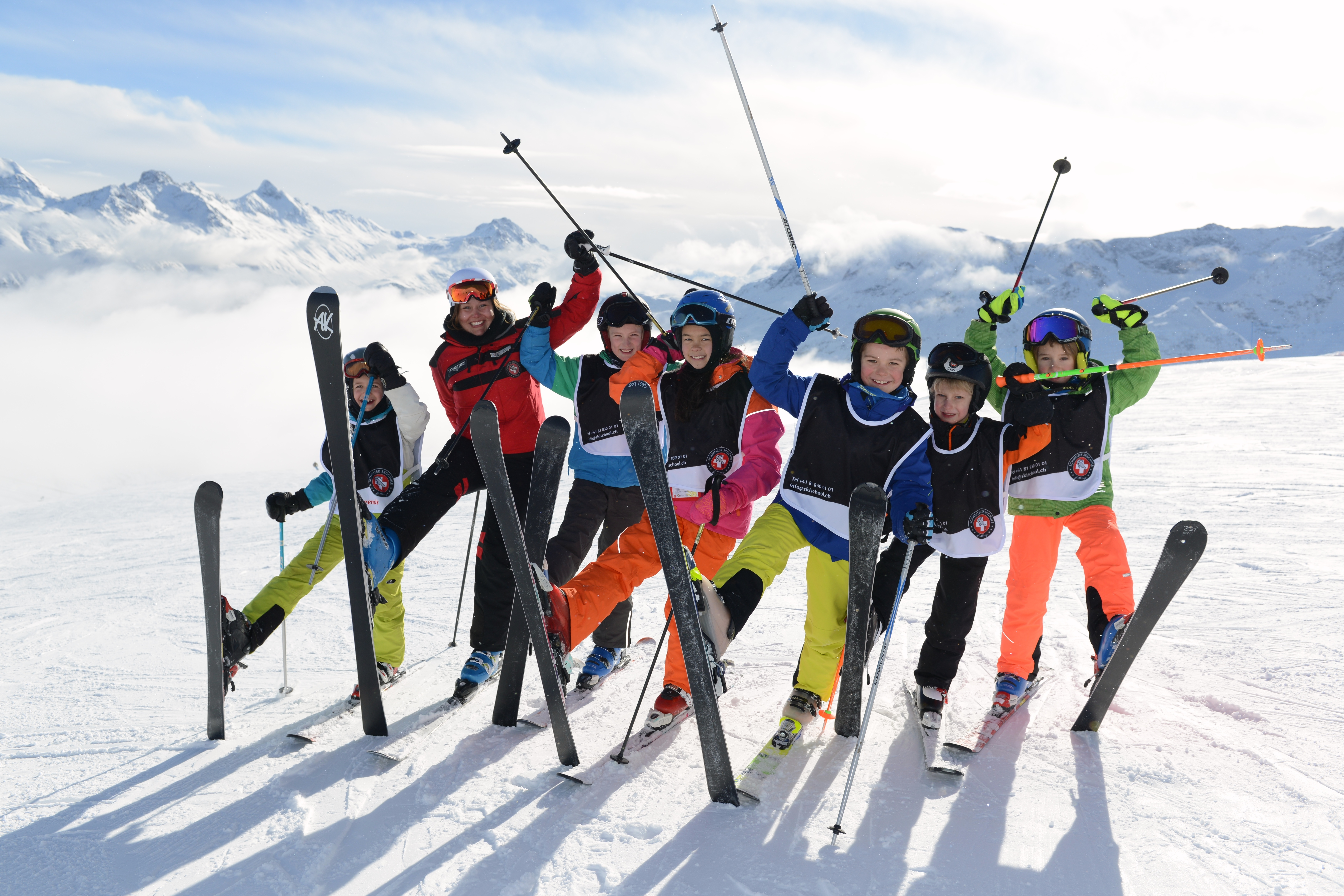 Schweizer Skischule St.Moritz / Samedan Slide 6