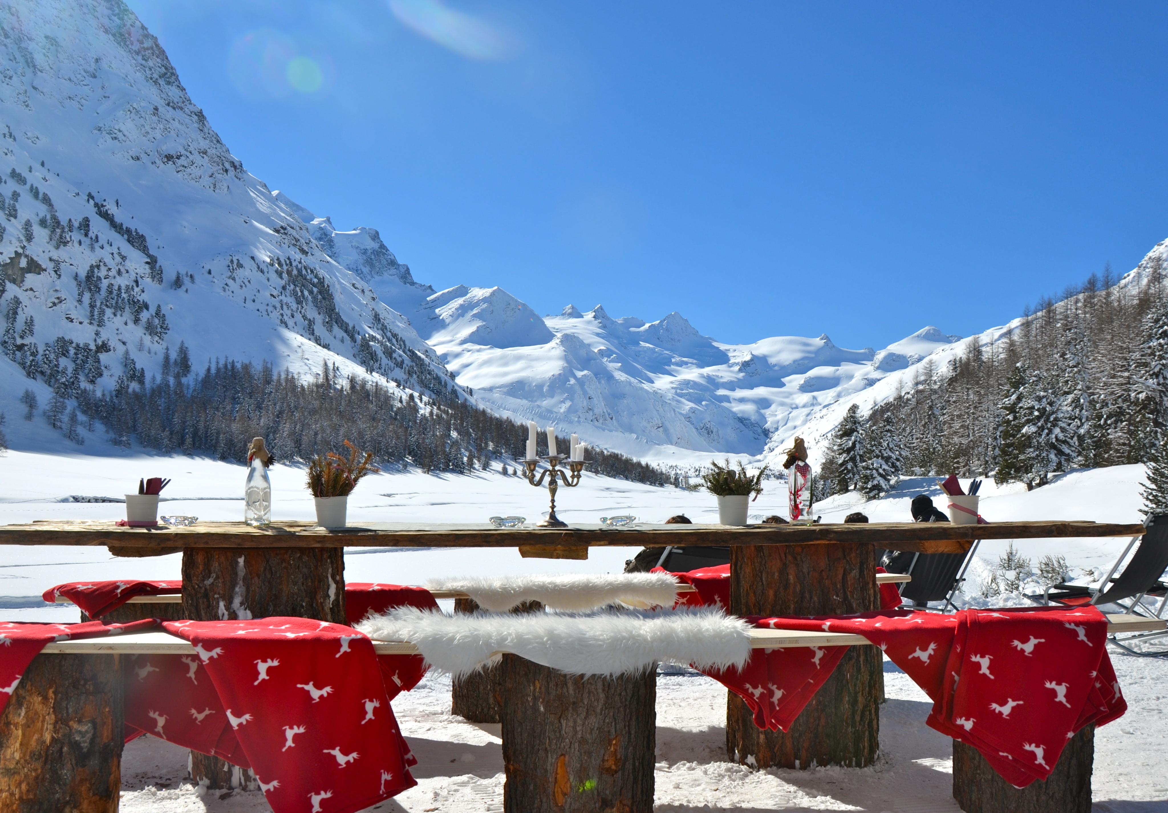 Restaurant Hotel Roseg Gletscher Slide 5