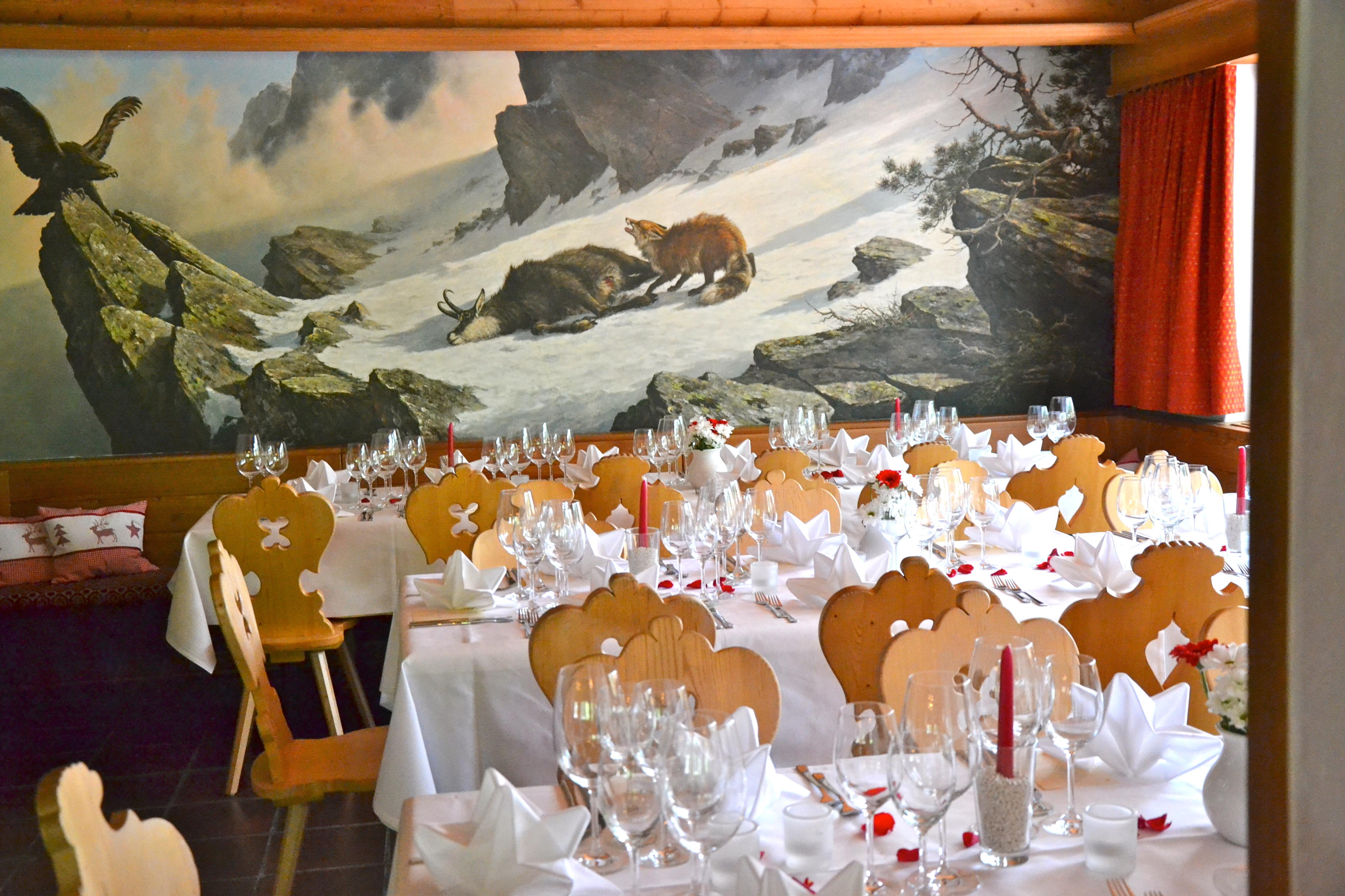 Restaurant Hotel Roseg Gletscher Slide 6