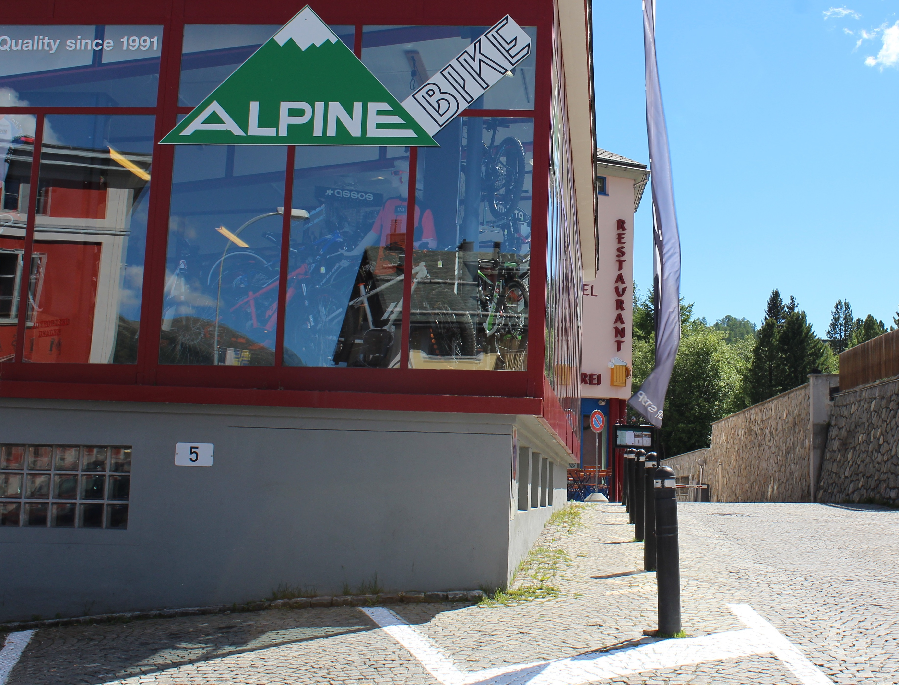 Alpine Bike Slide 1