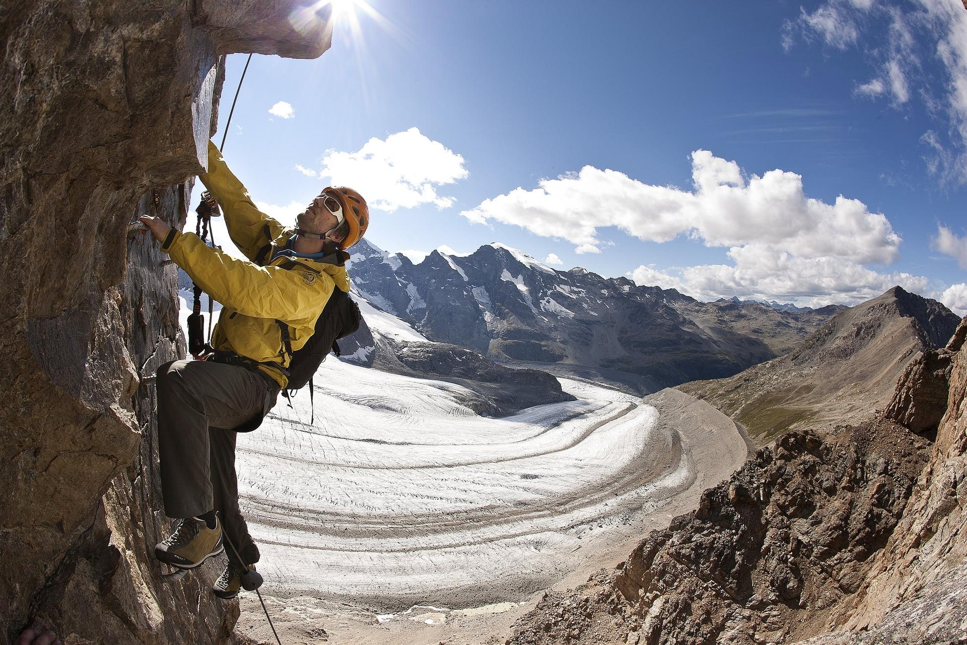 Klettersteig Piz Trovat : Klettersteig piz trovat ii sommer in engadin st moritz