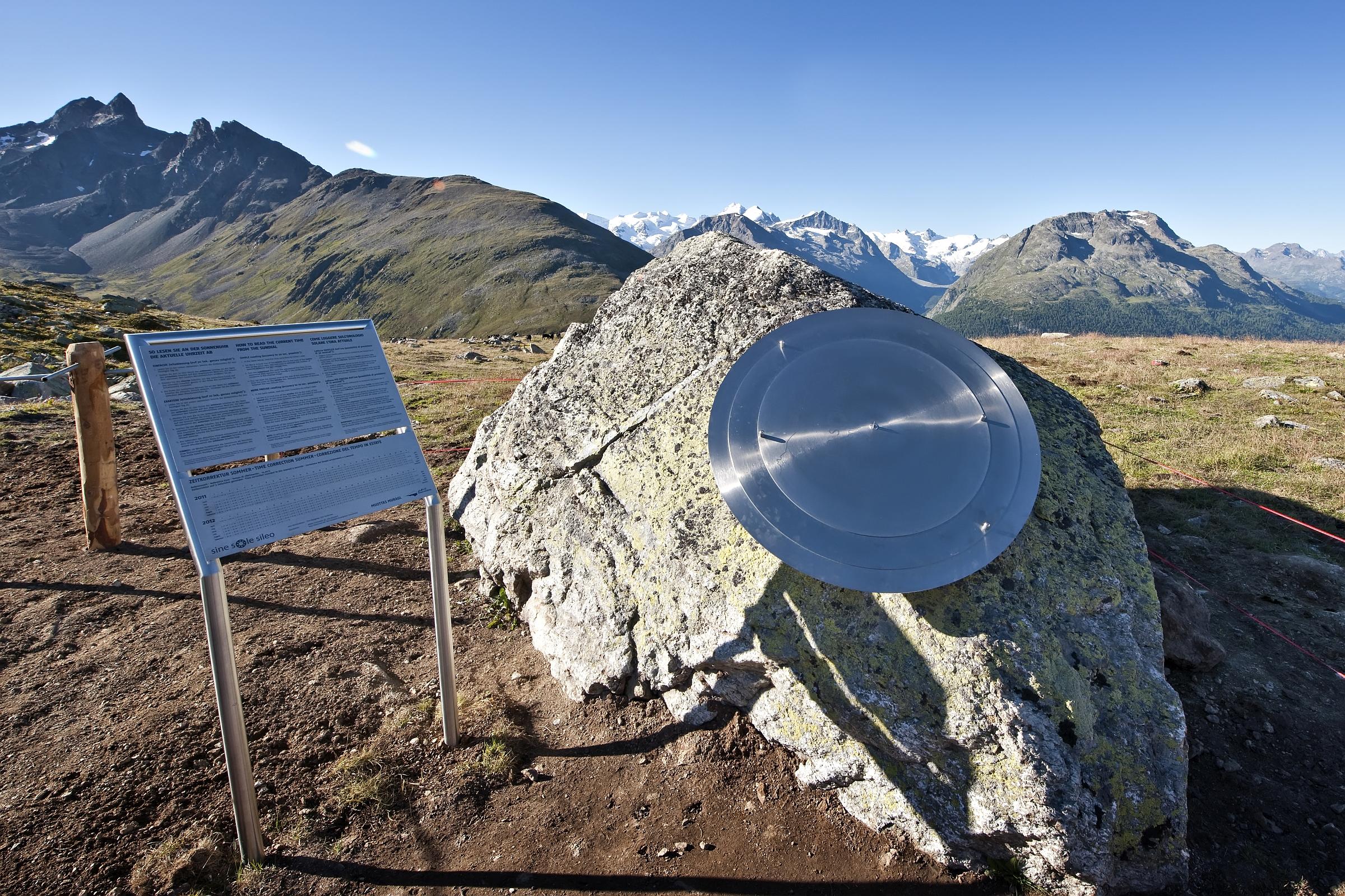 «SINE SOLE SILEO» - die genaueste Sonnenuhr der Welt!