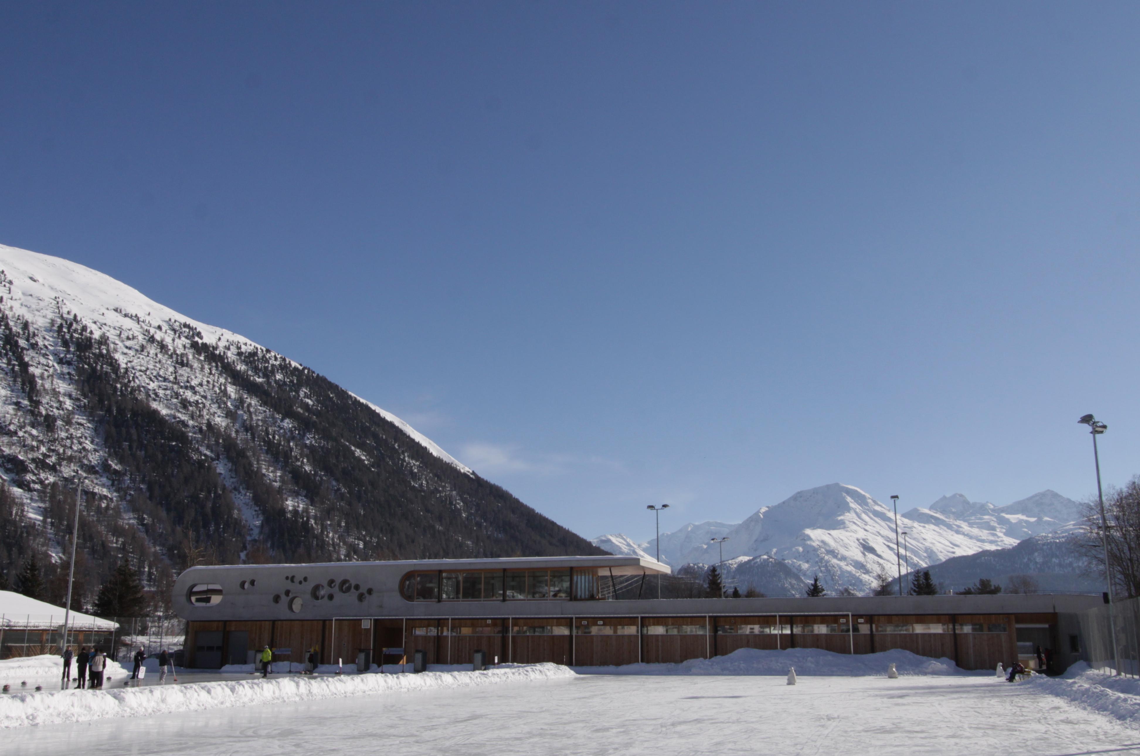 Eiszeit Promulins Arena, Samedan Slide 2