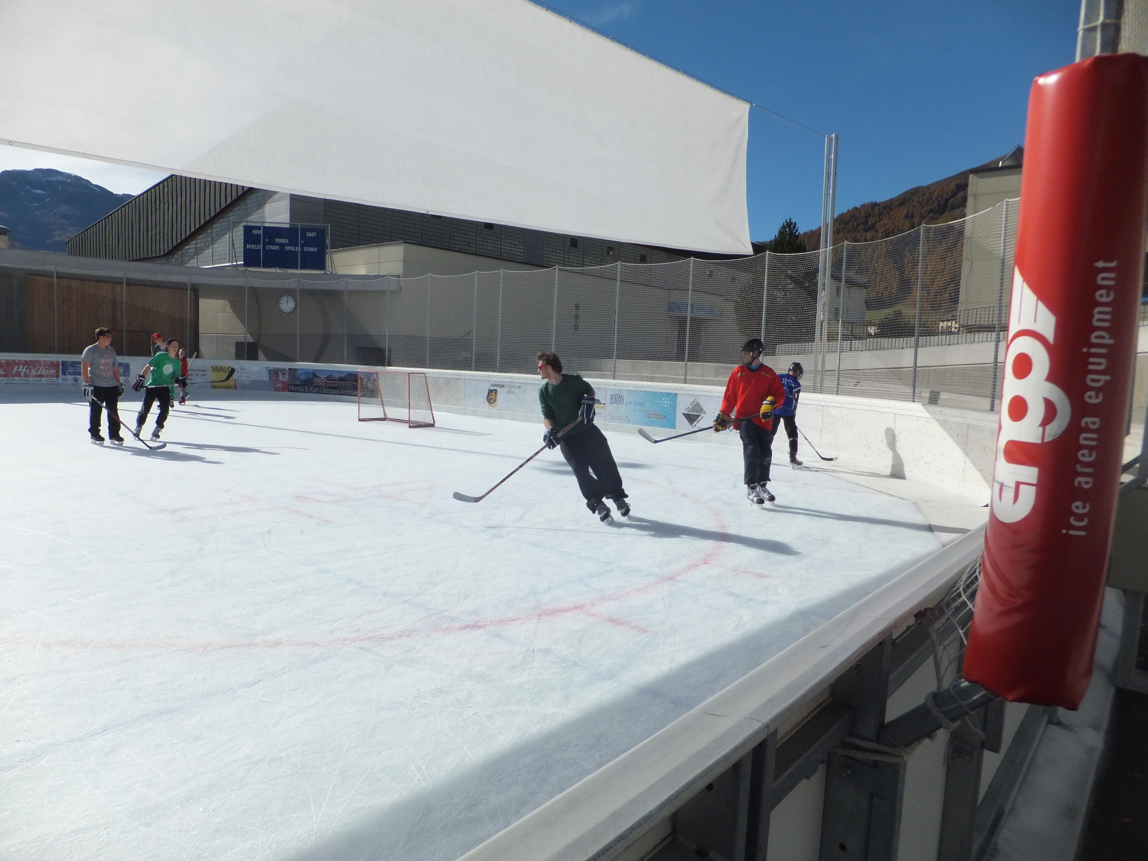 Eiszeit Promulins Arena, Samedan Slide 3