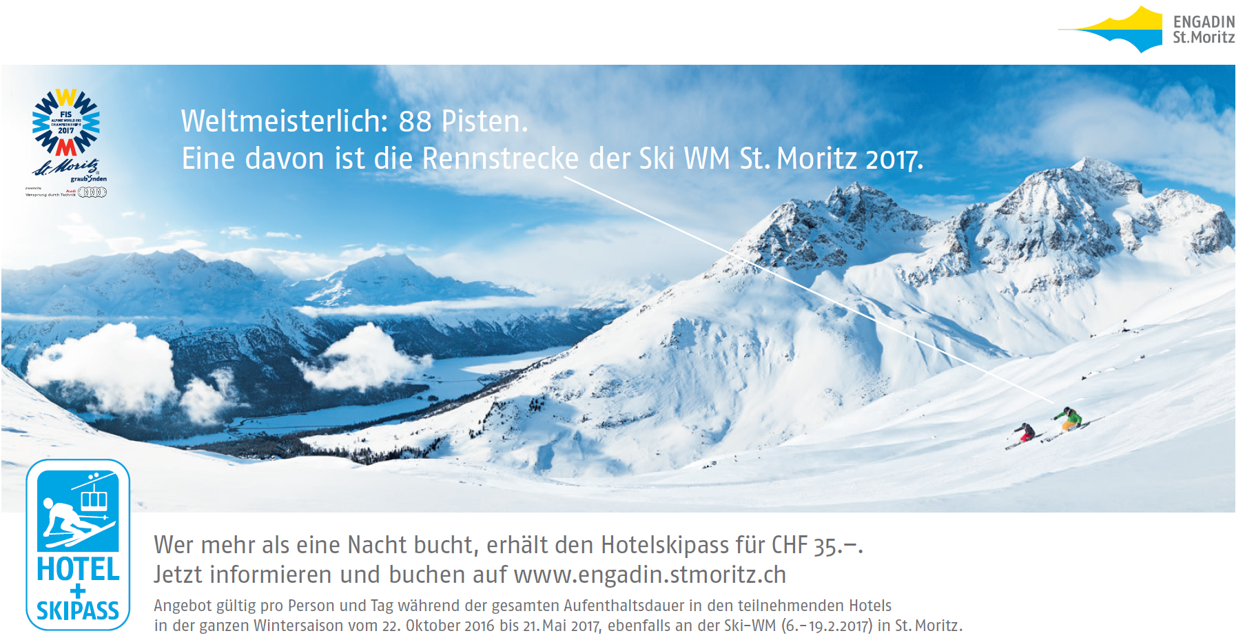 Lancierung der Winterkampagne 2016/2017 Slide 1