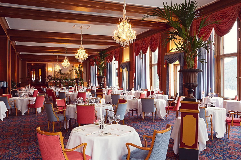 Le Restaurant - Badrutt's Palace Hotel Slide 1