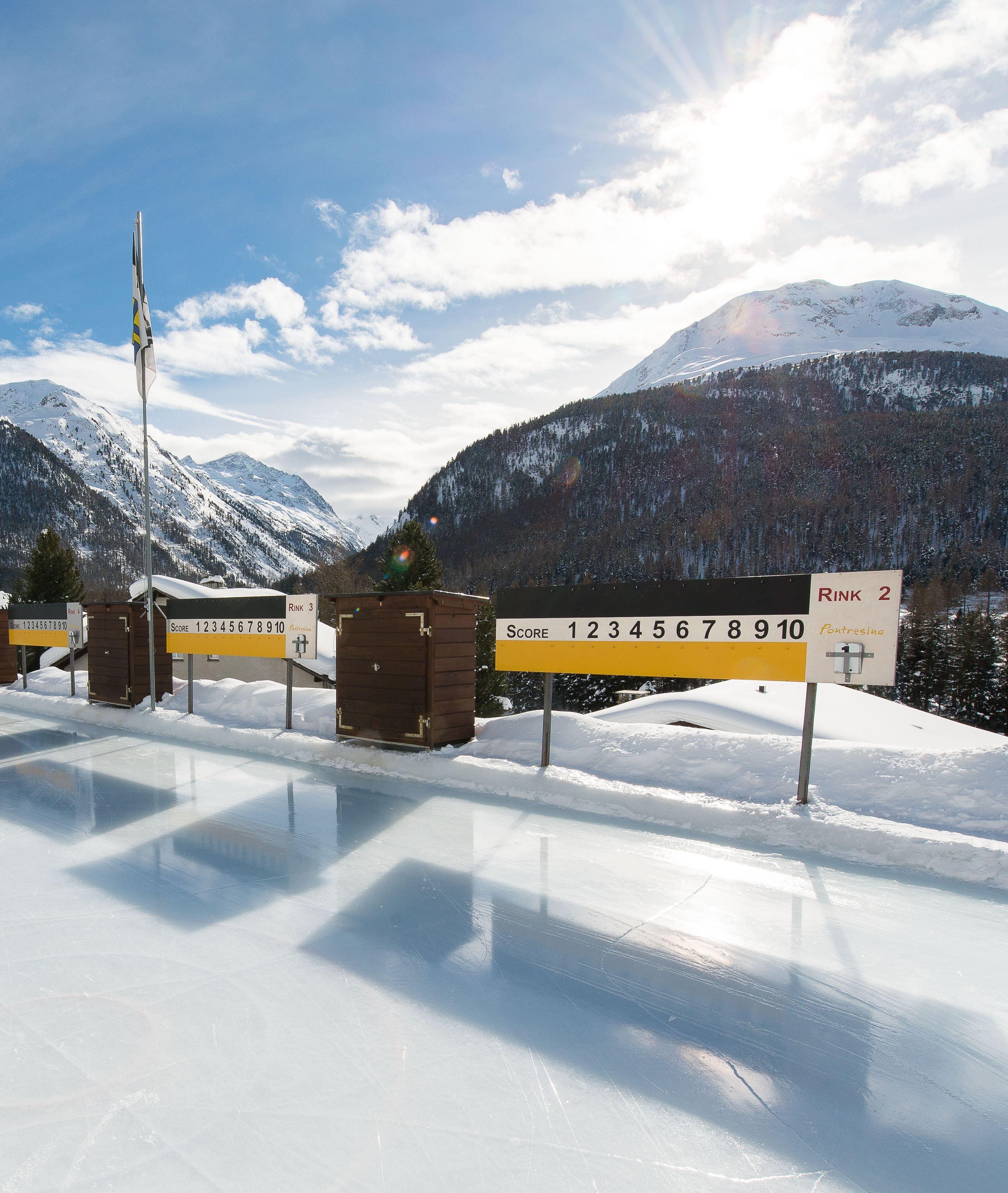 Eisplatz Roseg Pontresina Slide 1