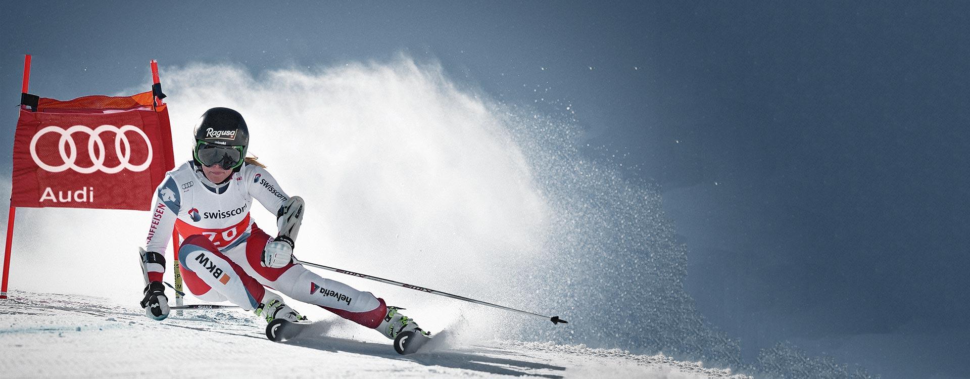 Audi Ski Run - Hol dir dein Video mit Botschaft von Lara Gut