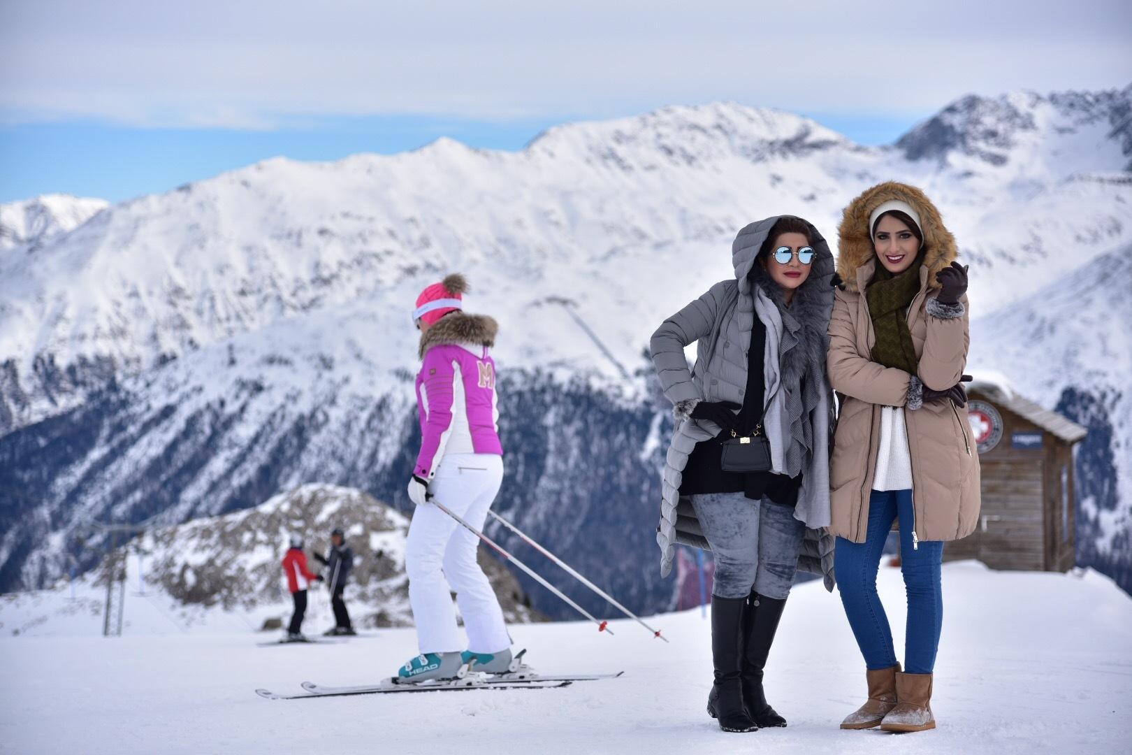 St. Moritz trifft auf Abu Dhabi Slide 1