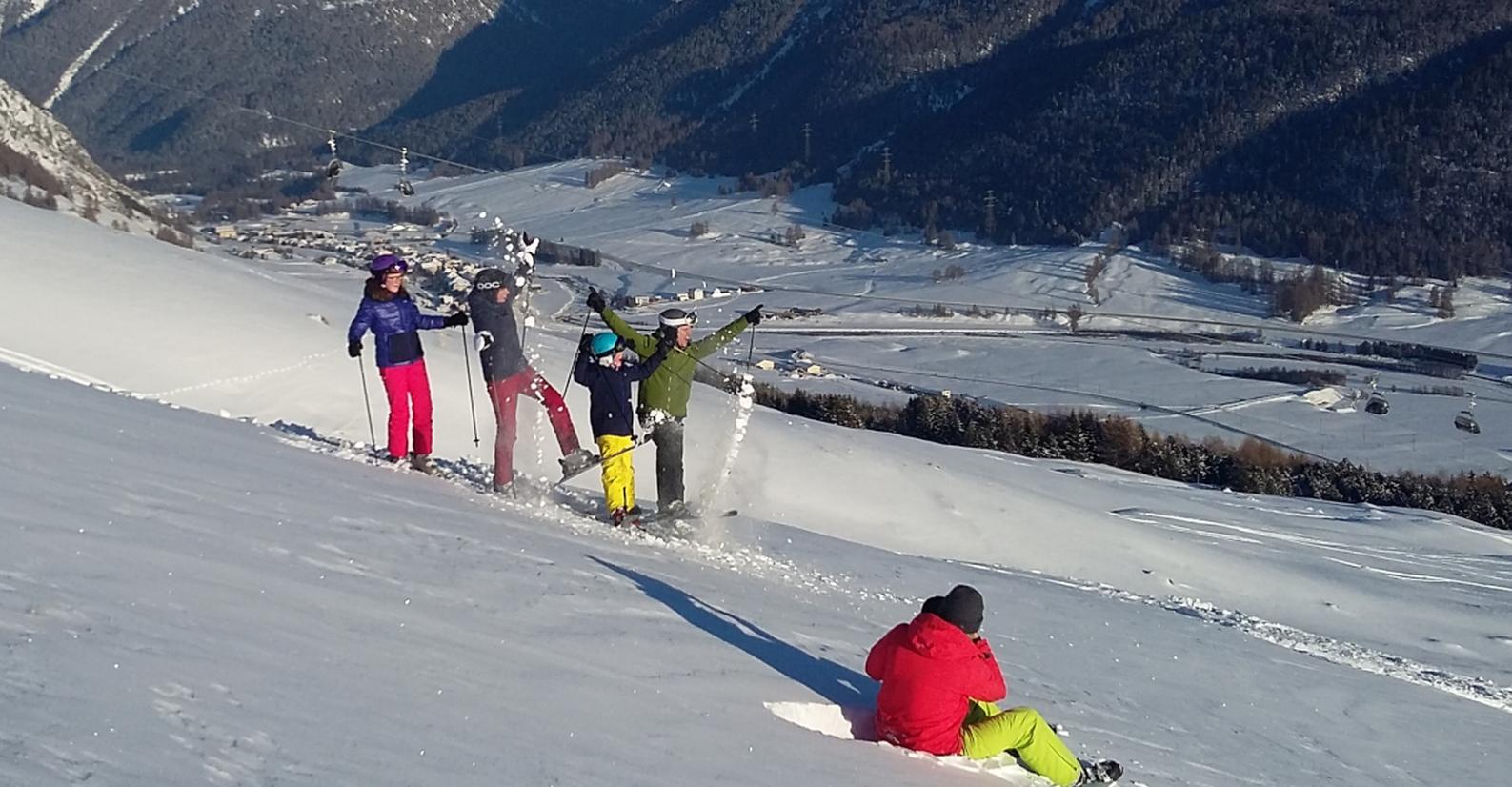 Engadin St. Moritz produzierte neue Winterbilder Slide 1