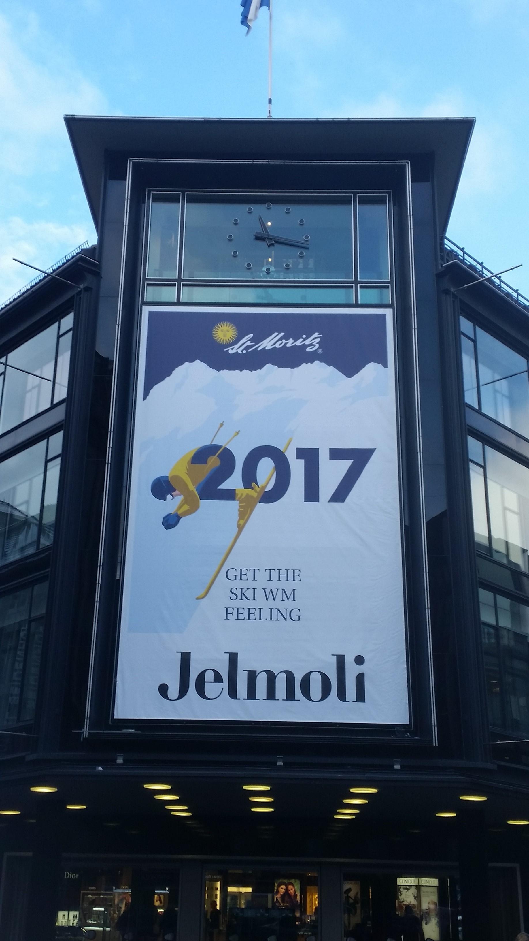 Ski WM-Fieber in Zürich Slide 1