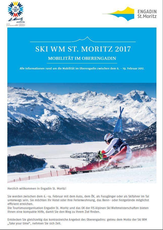 Gästeinformation während der Ski WM 2017 Slide 1