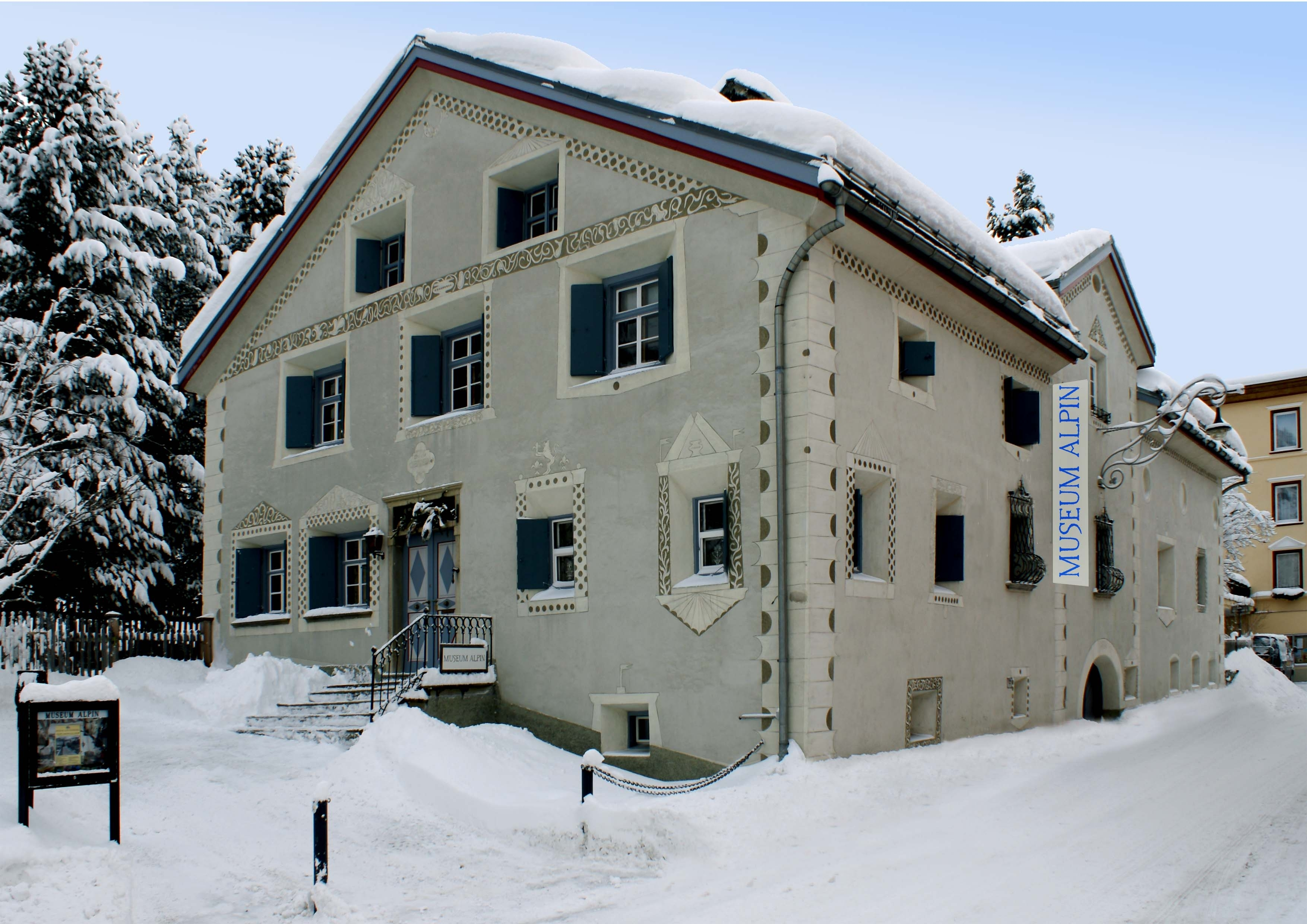 SAC Bibliothek, Museum Alpin Slide 1
