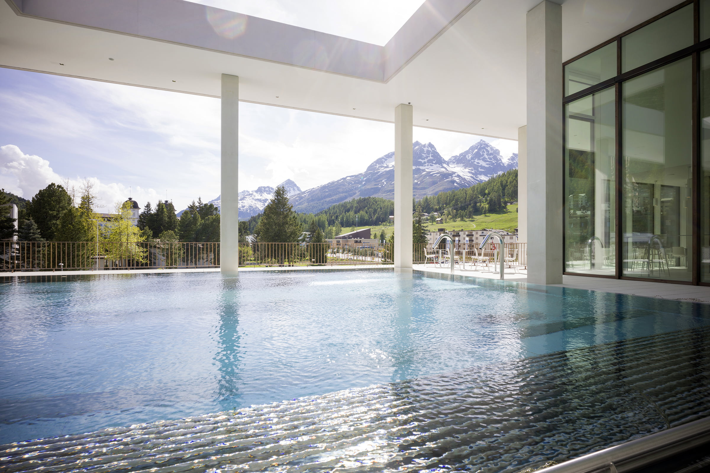 Ovaverva Pool, Spa & Sports Centre St. Moritz