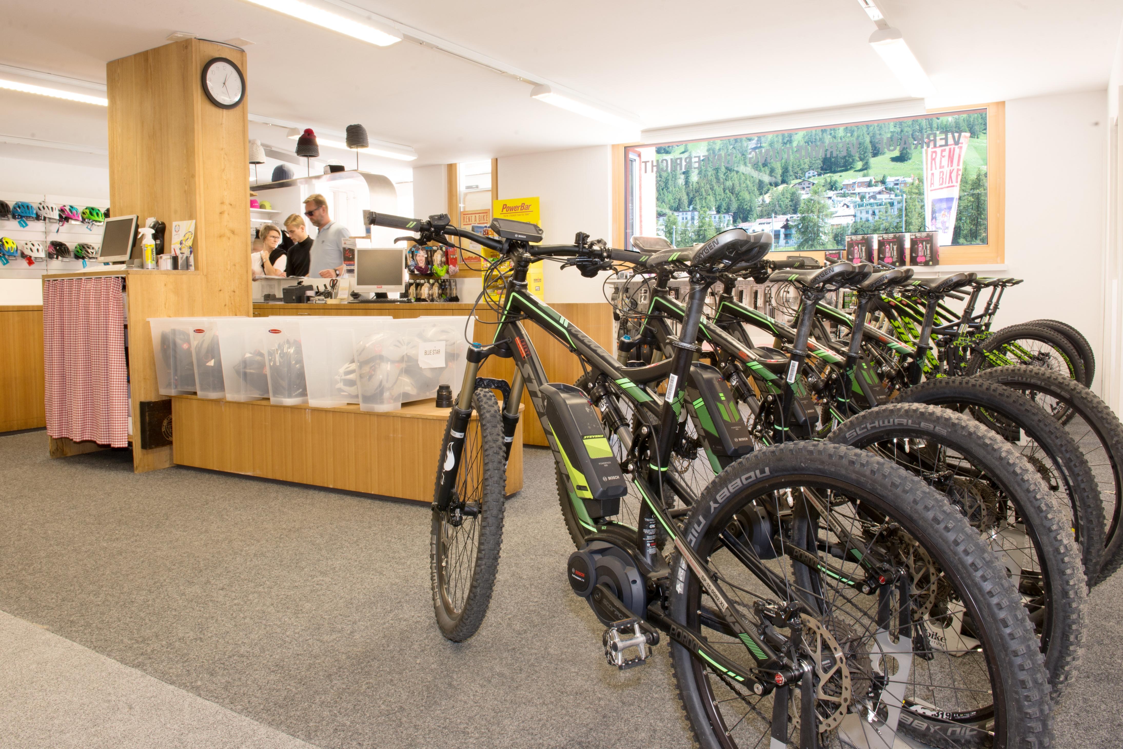 Schweizer Langlauf- und Bikezentrum Pontresina Slide 8