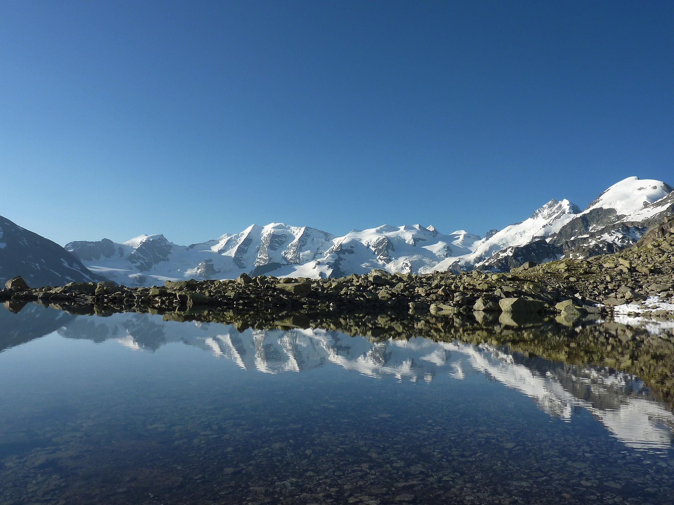 Bernina Trekking (Rudolf Wiesner, Wanderleiter mit Eidg. Fachausweis) Slide 5