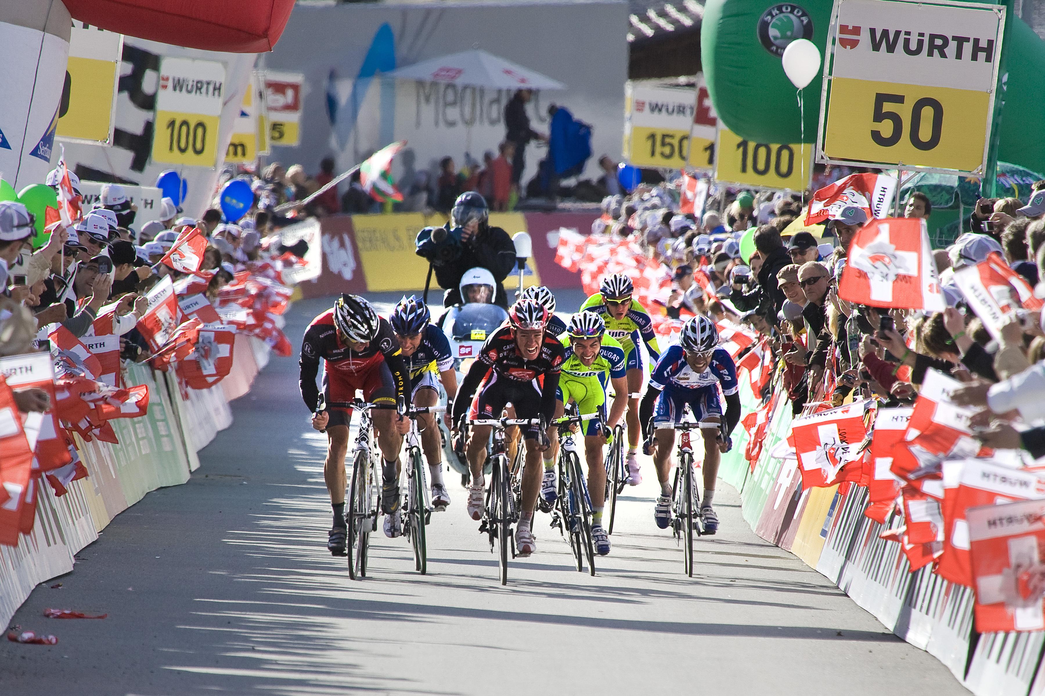 Tour de Suisse 2017 in La Punt und Zernez Slide 1