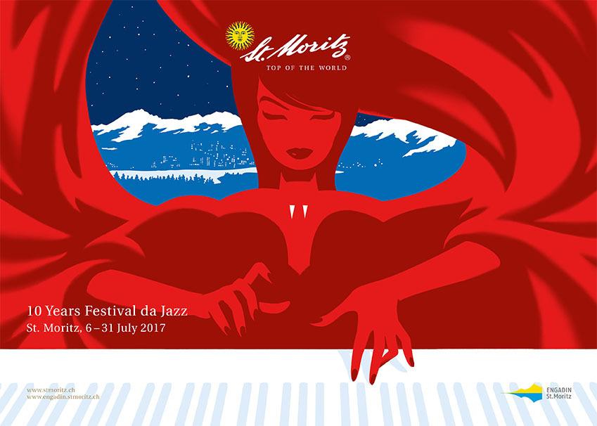 Sujet zur Bewerbung von St. Moritz Slide 1