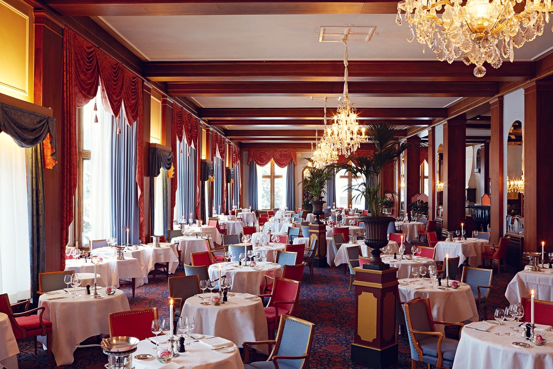 Le Restaurant - Badrutt's Palace Hotel Slide 2