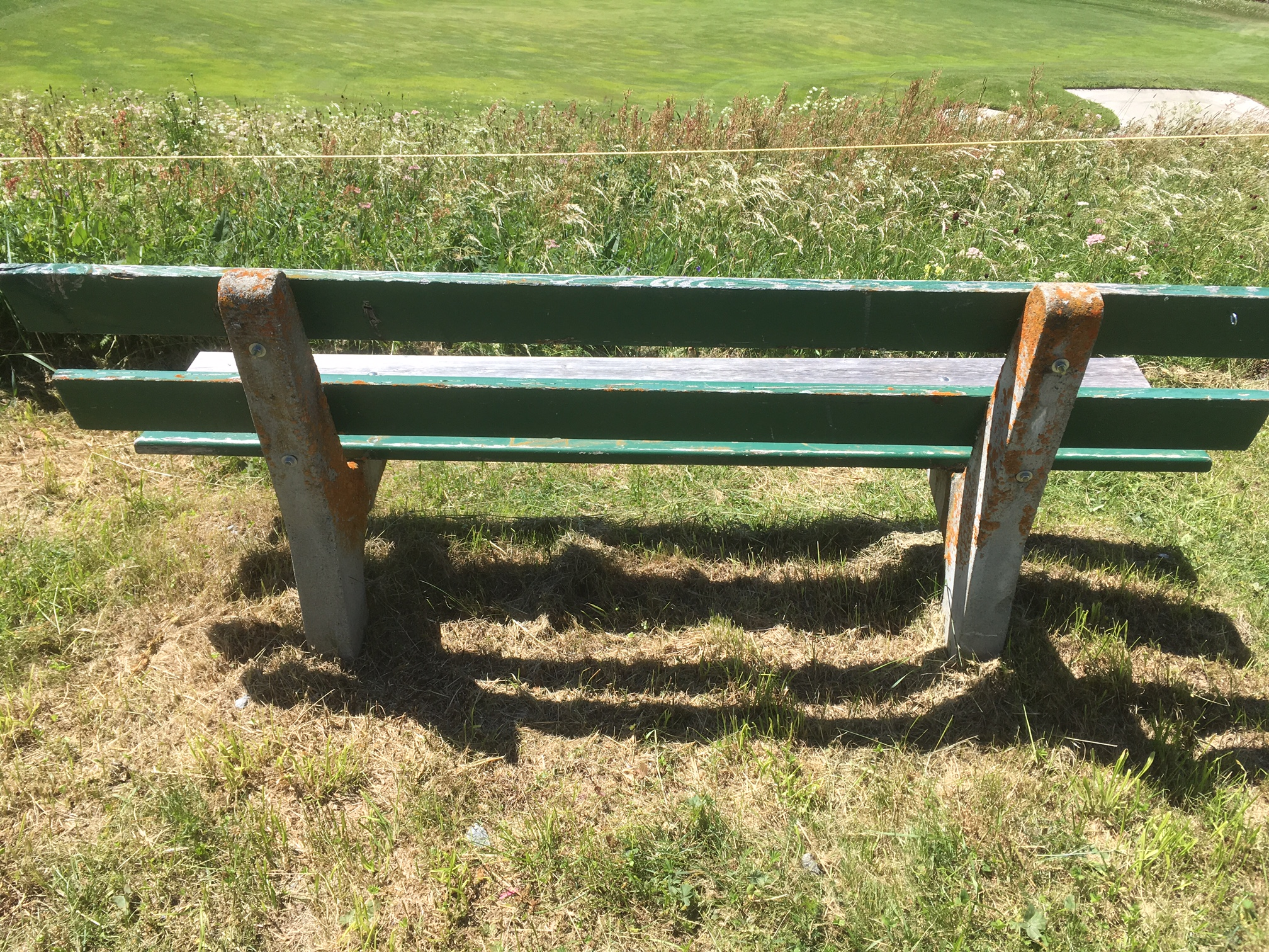 Sitzbank Golfweg I Slide 1