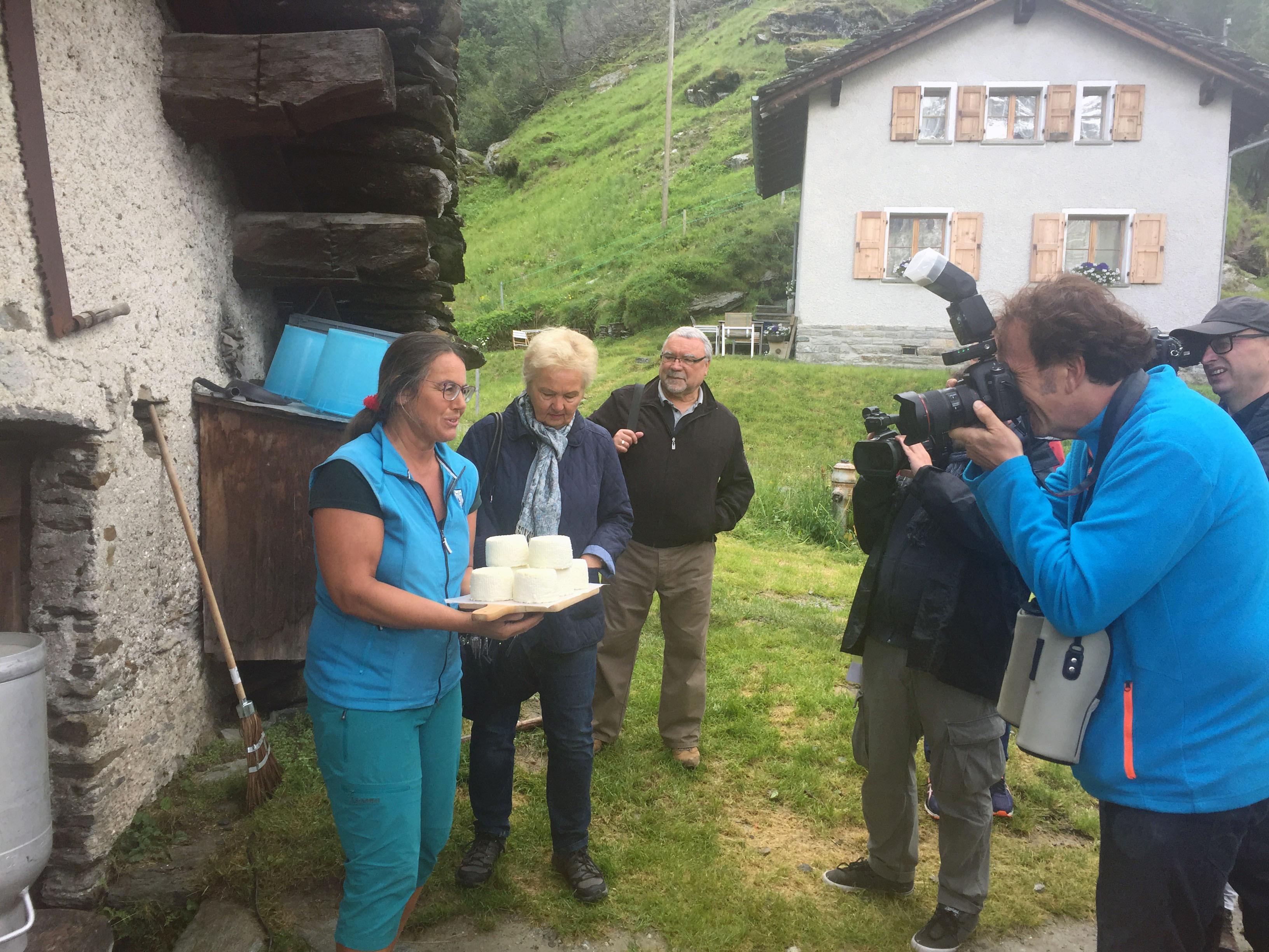 Das Oberengadin begeistert Medienschaffende aus Deutschland Slide 1